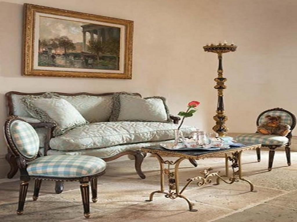 French Provincial Lounge Room Ideas