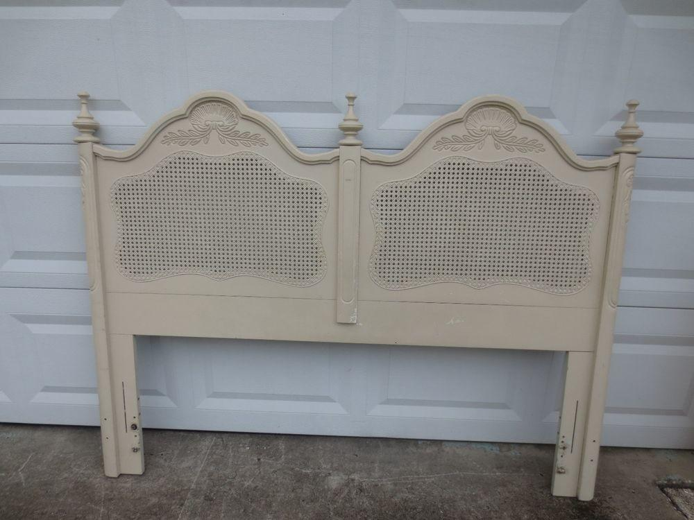 French Provincial Queen Headboard Shabby Chic