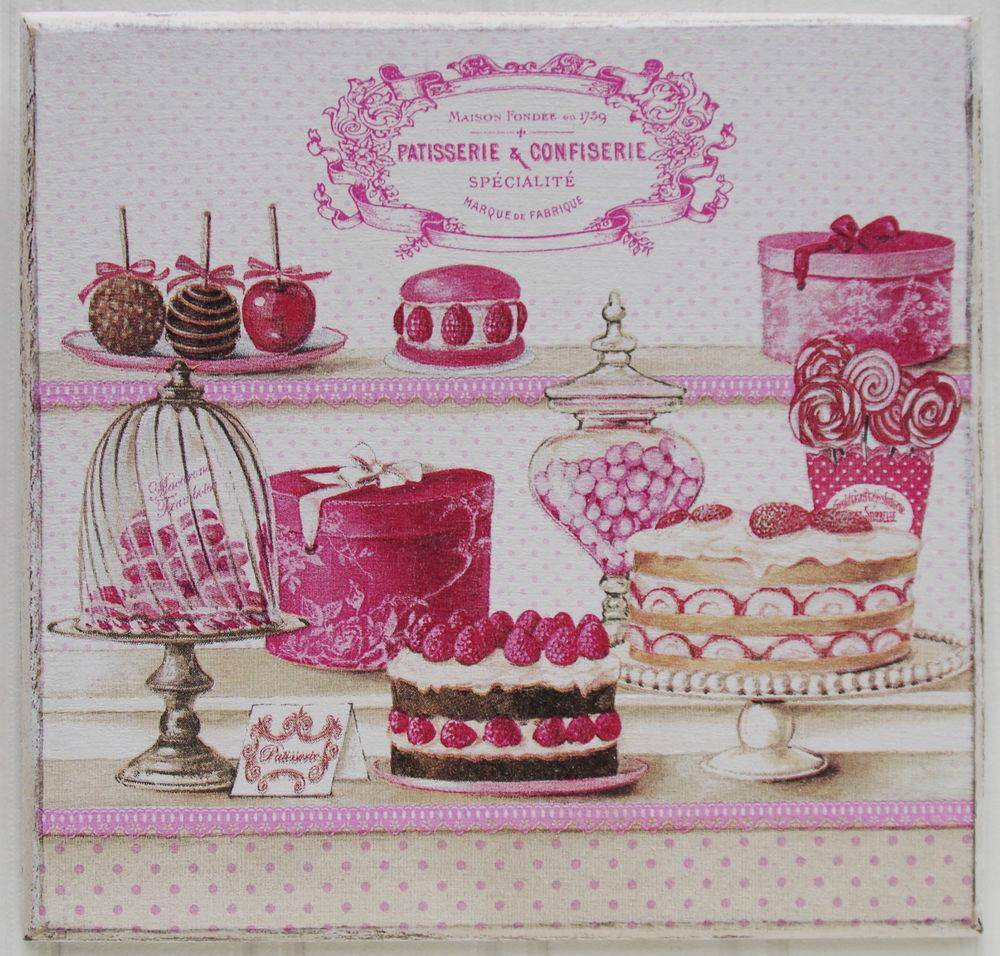 French Shabby Chic Patisserie Confiserie Kitchen Decor