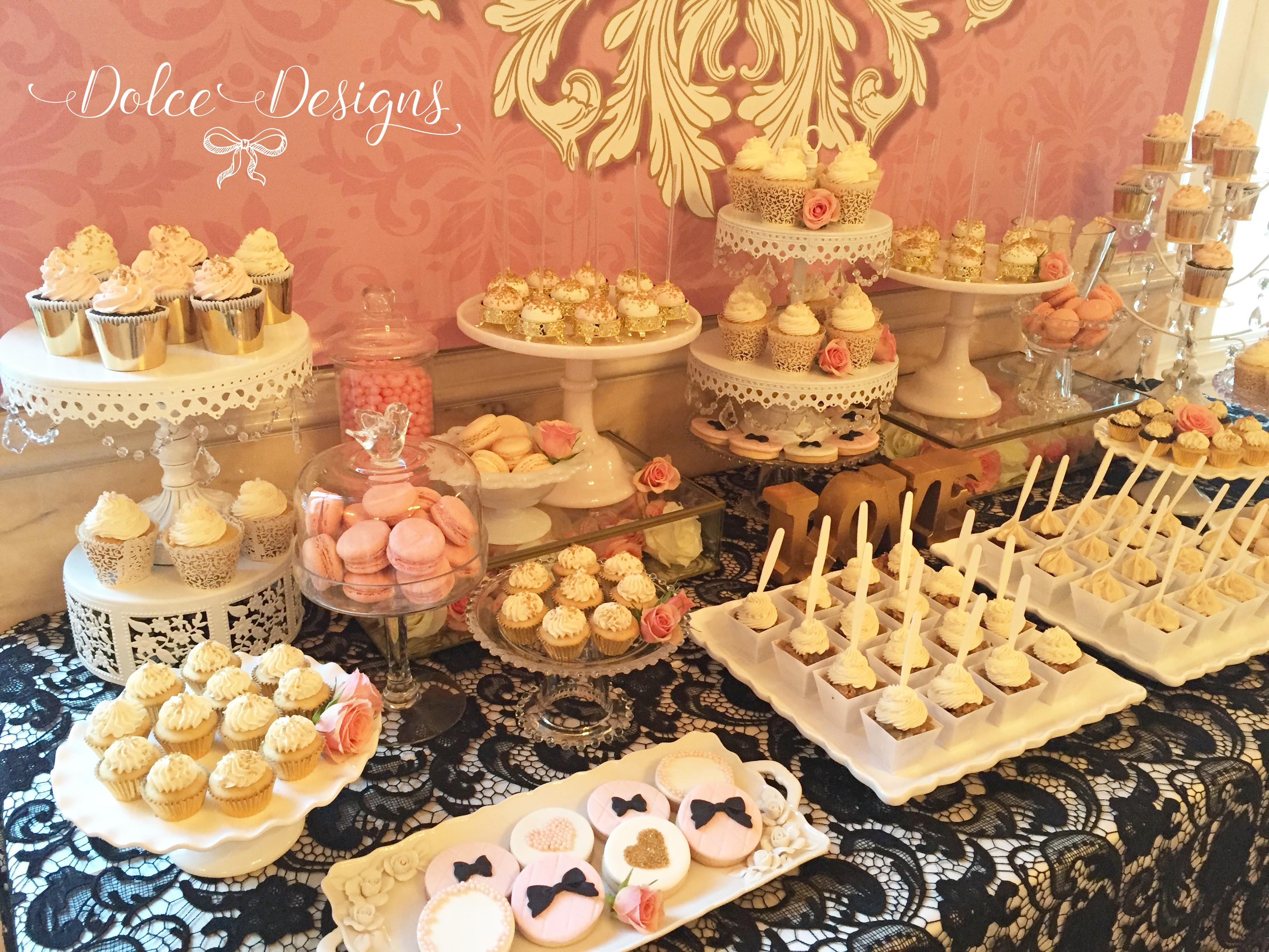 French Style Dessert Table Dolce Designs