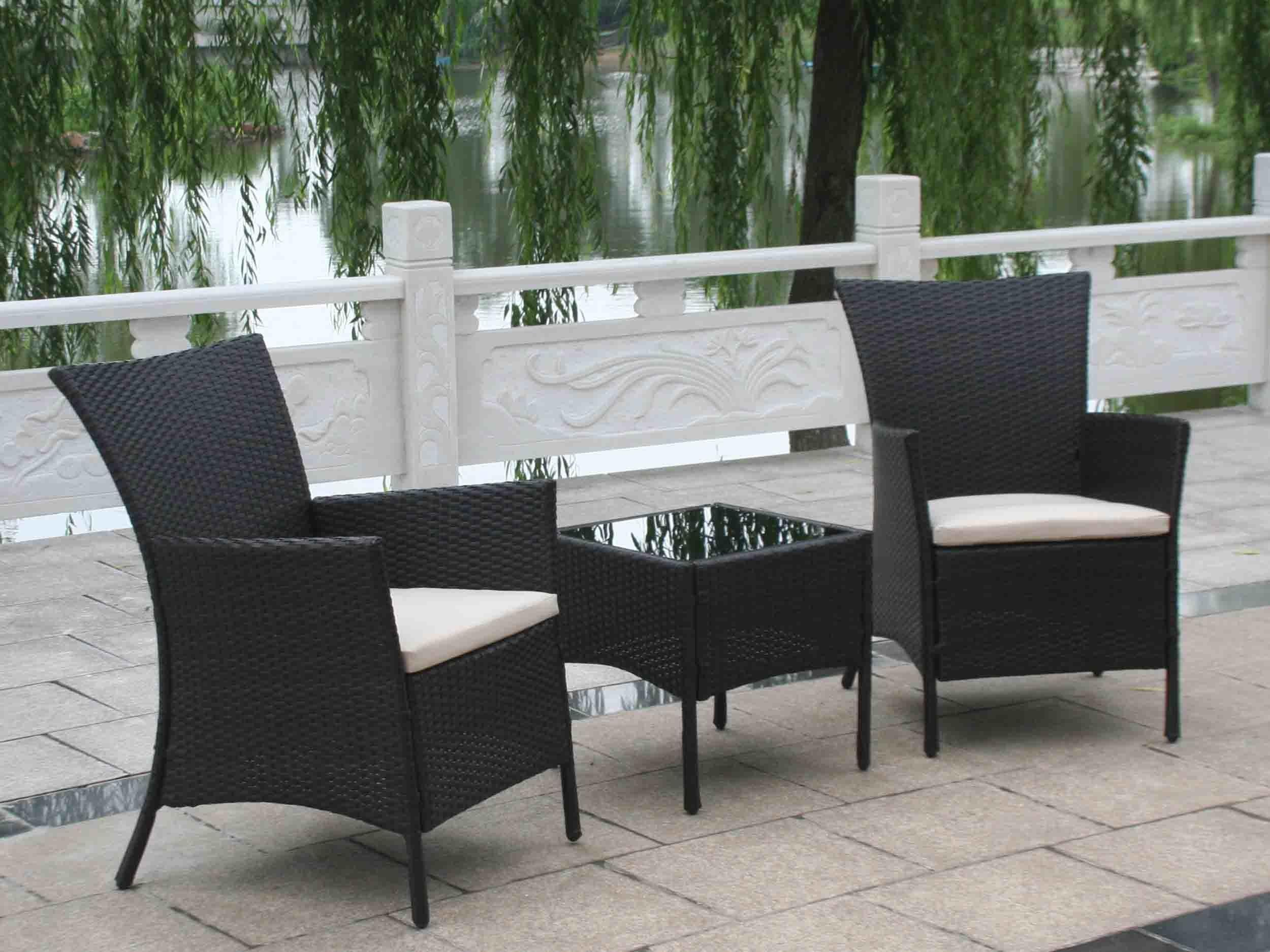 Fresh Australia Black Wicker Outdoor Furniture Brisb