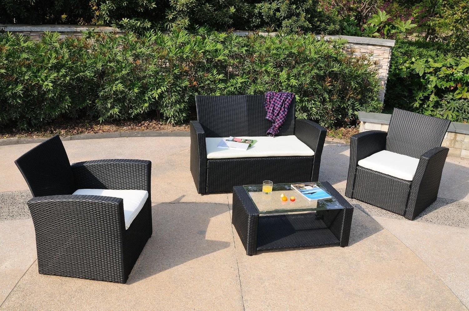 Fresh Awesome Black Wicker Patio Furniture Sets