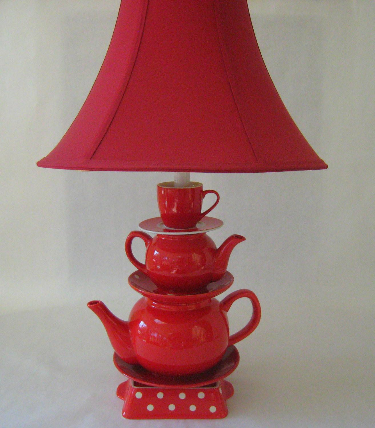 Fresh Awesome Stained Glass Teapot Accent Lamp