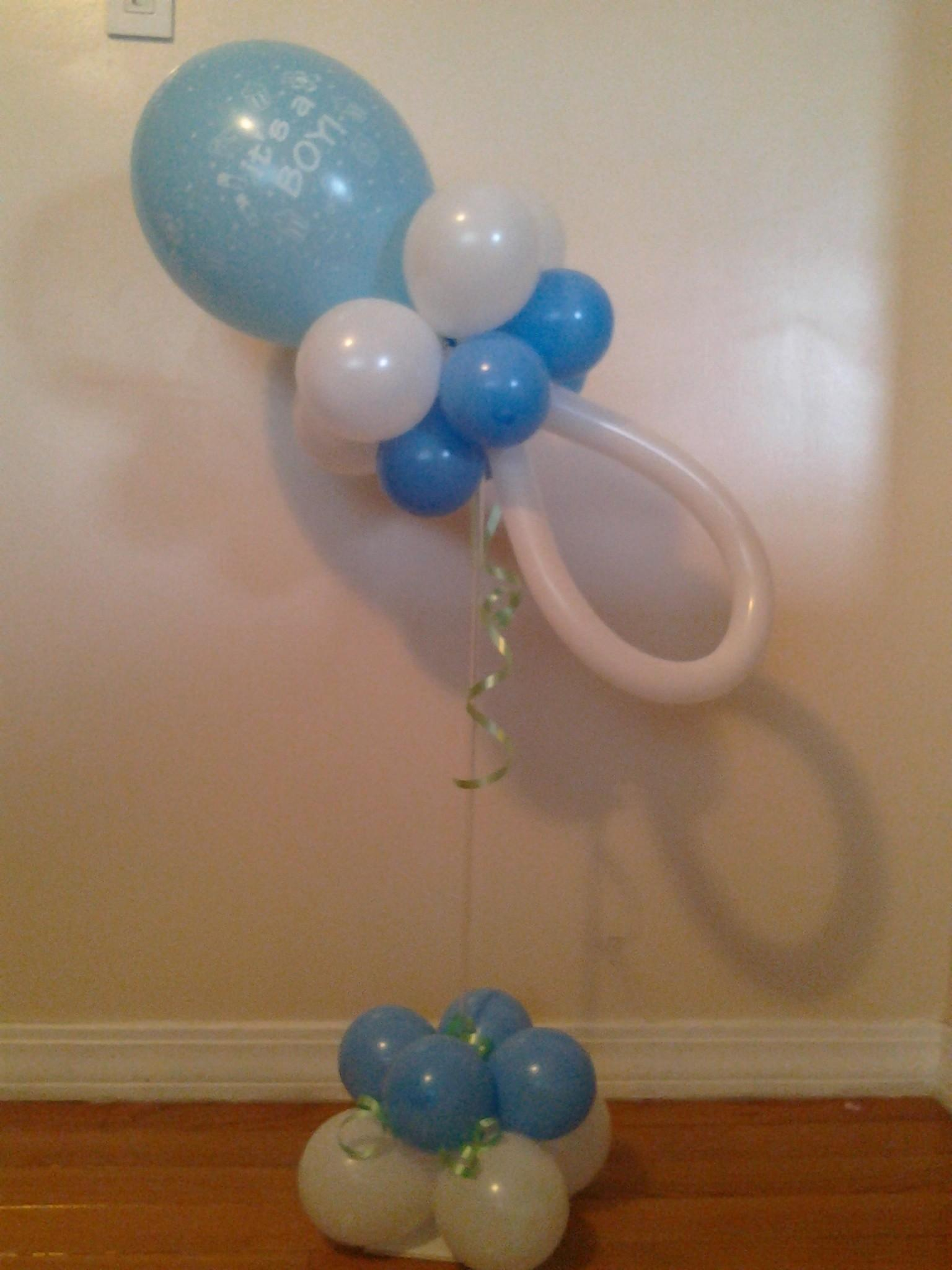 Fresh Baby Shower Centerpieces Balloons