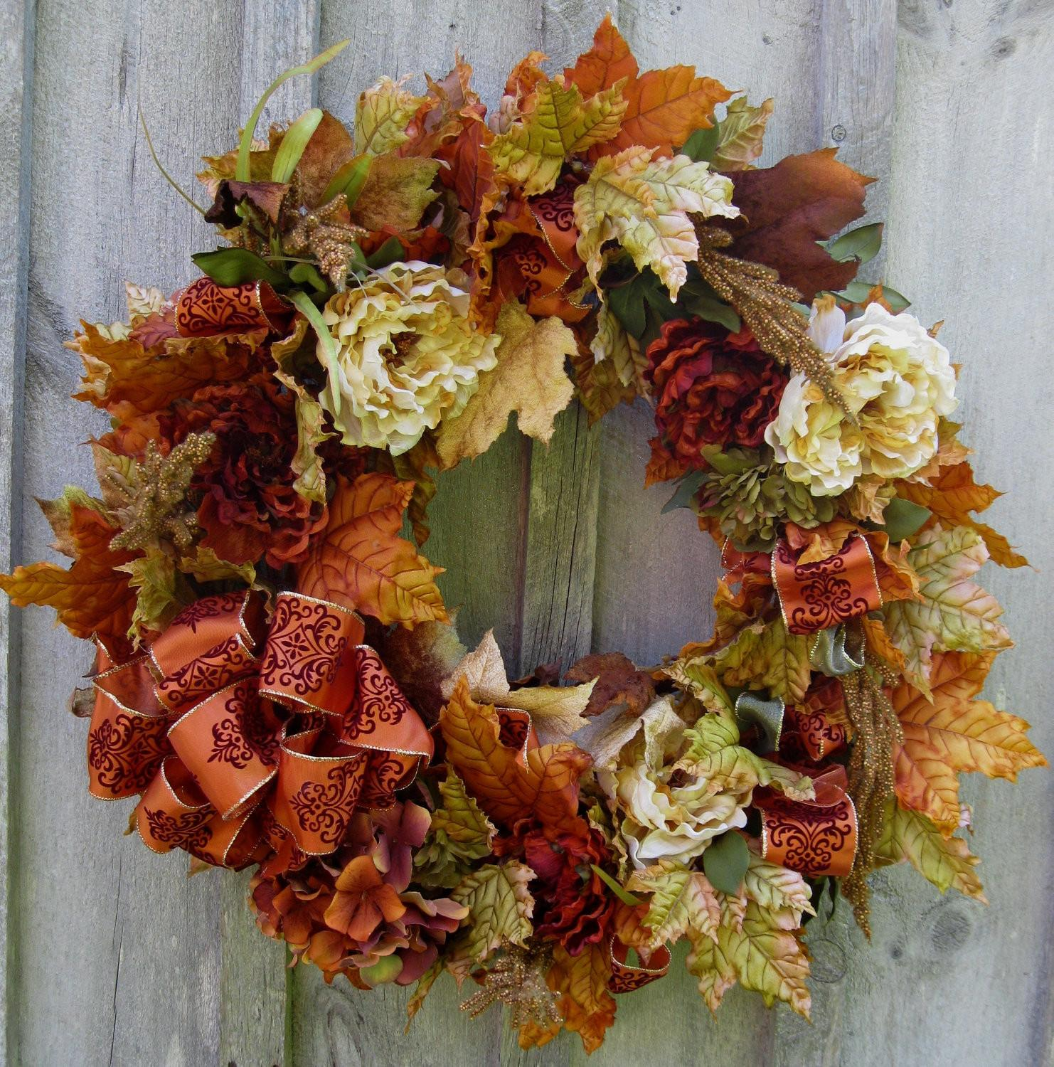 Fresh Diy Fall Wreaths Easy Decoratorist 51380