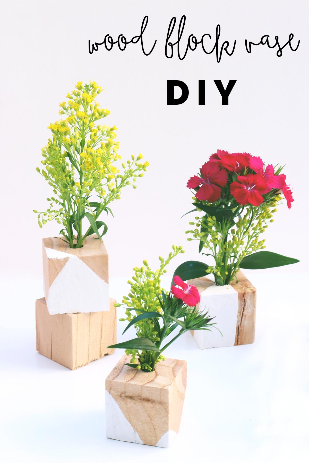 Fresh Diy Flower Vase Home Idea
