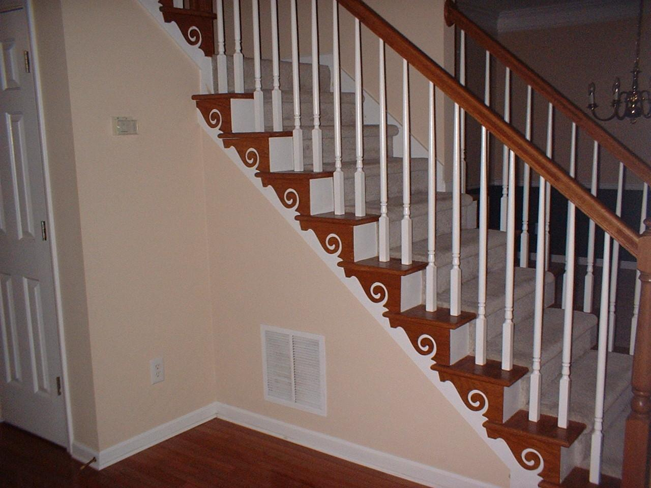 Fresh Diy Staircase Wall Decorating Ideas
