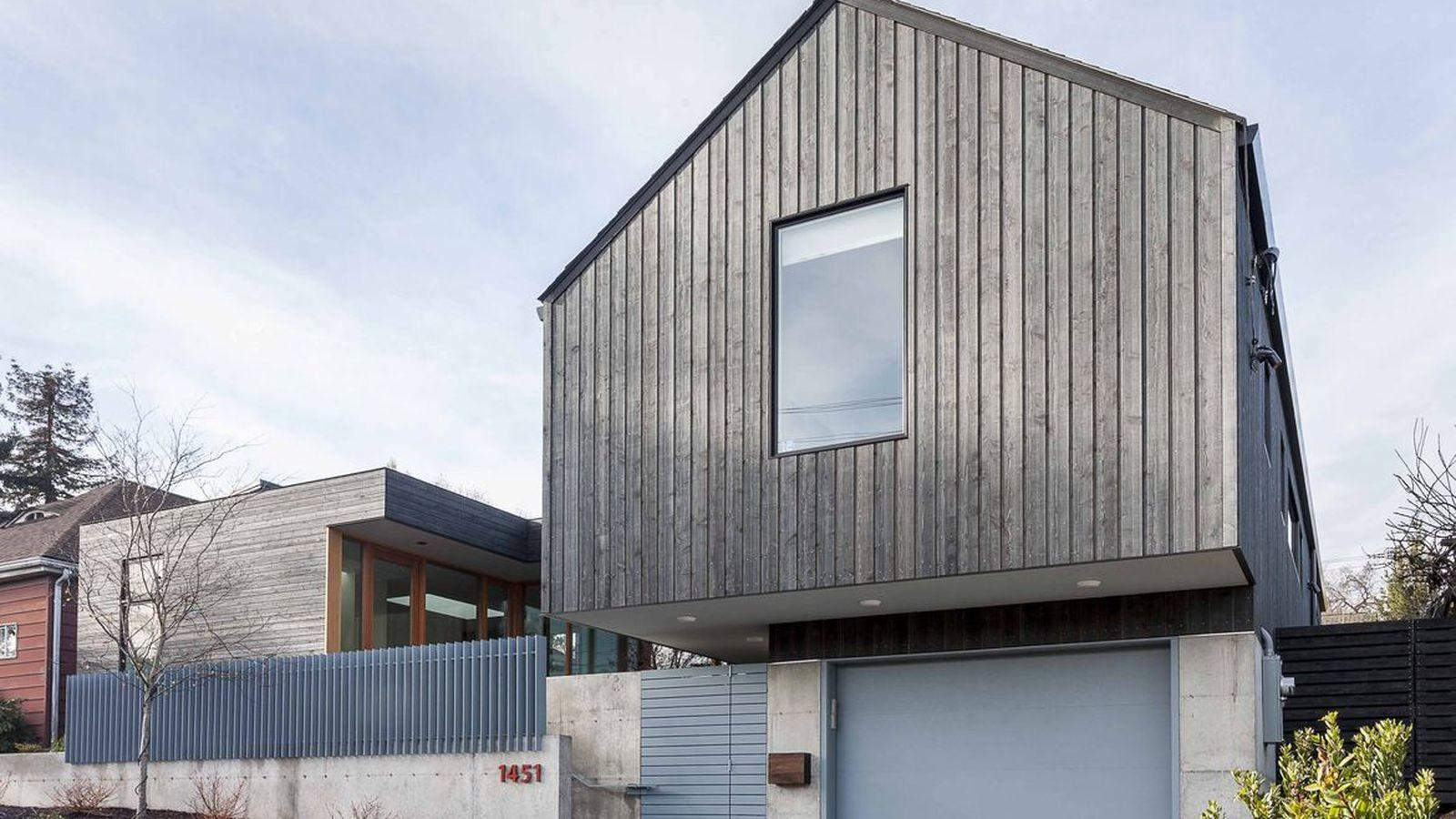 Fresh Modern House Seattle Combines Boxy Gabled Styles