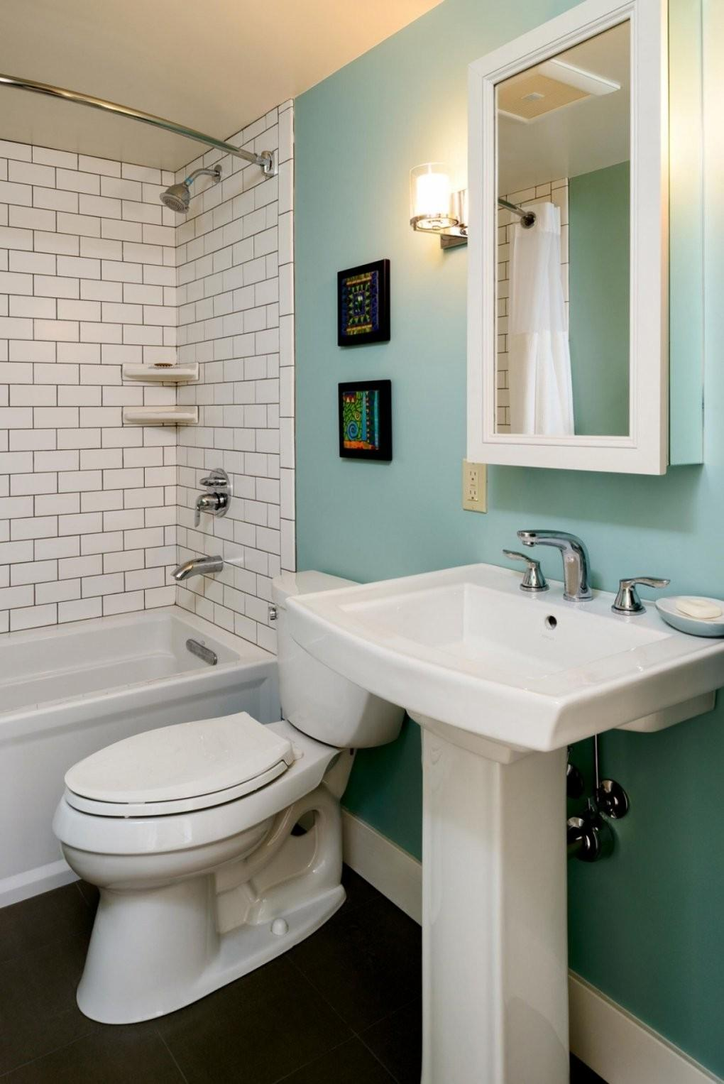 Fresh Small Narrow Bathroom Design Ideas
