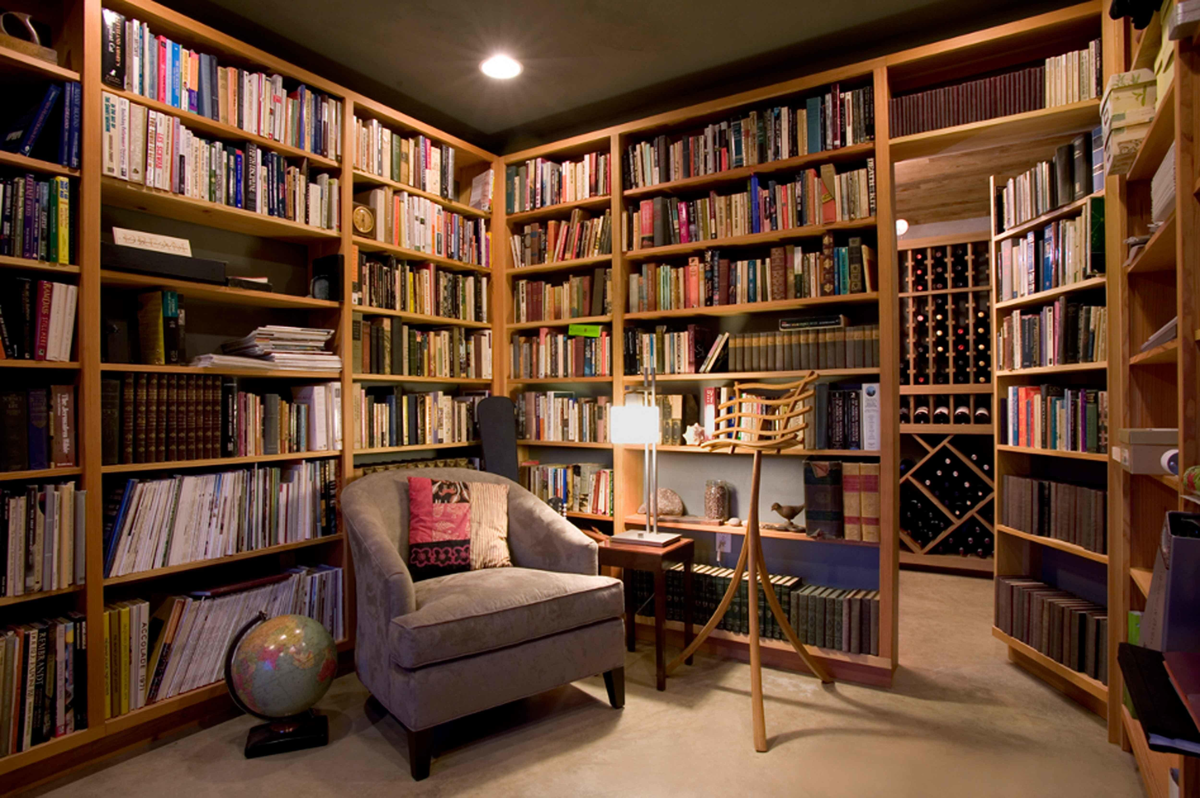 Fresh Small Room Home Libraries