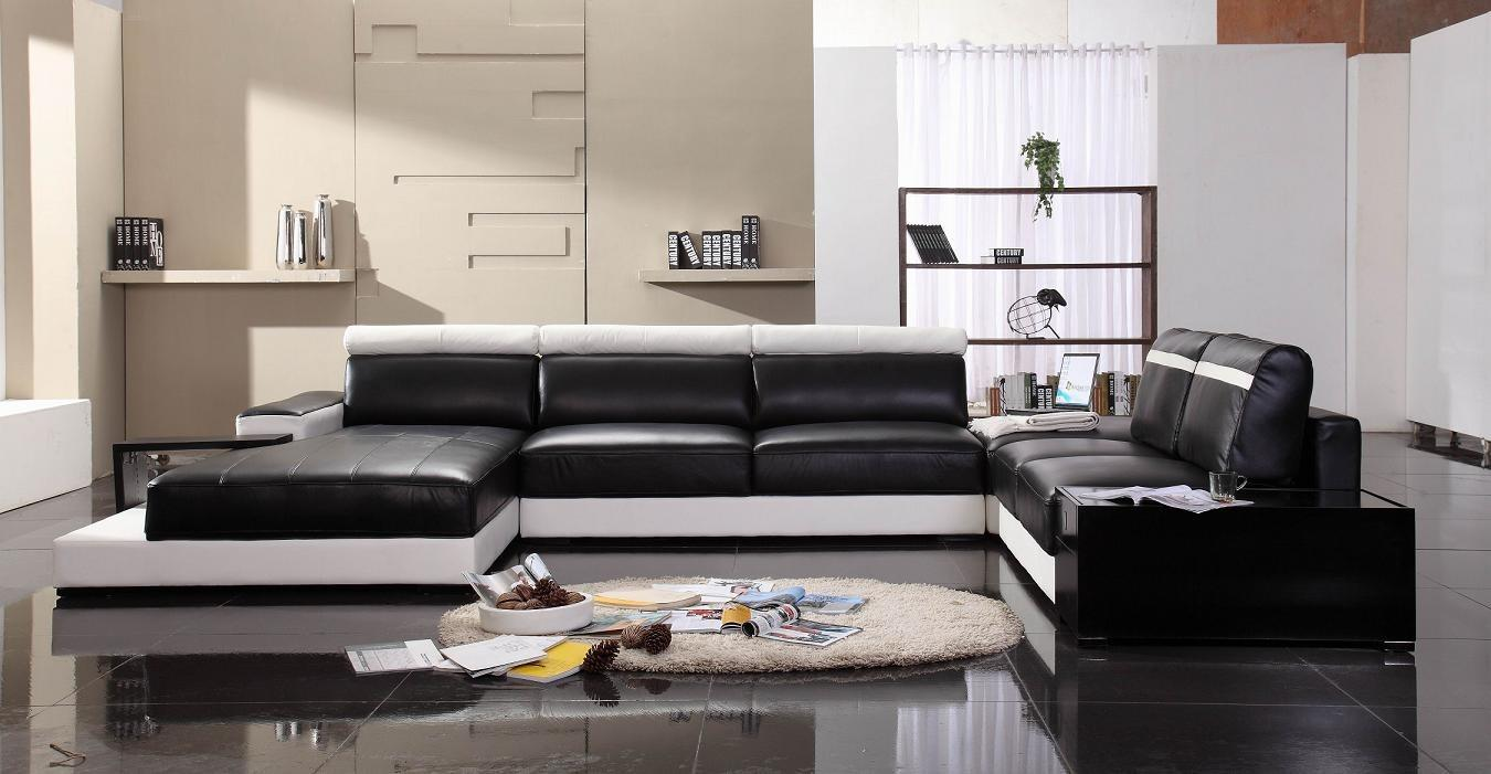 Fresh Ultra Modern Sectional Sofa 732