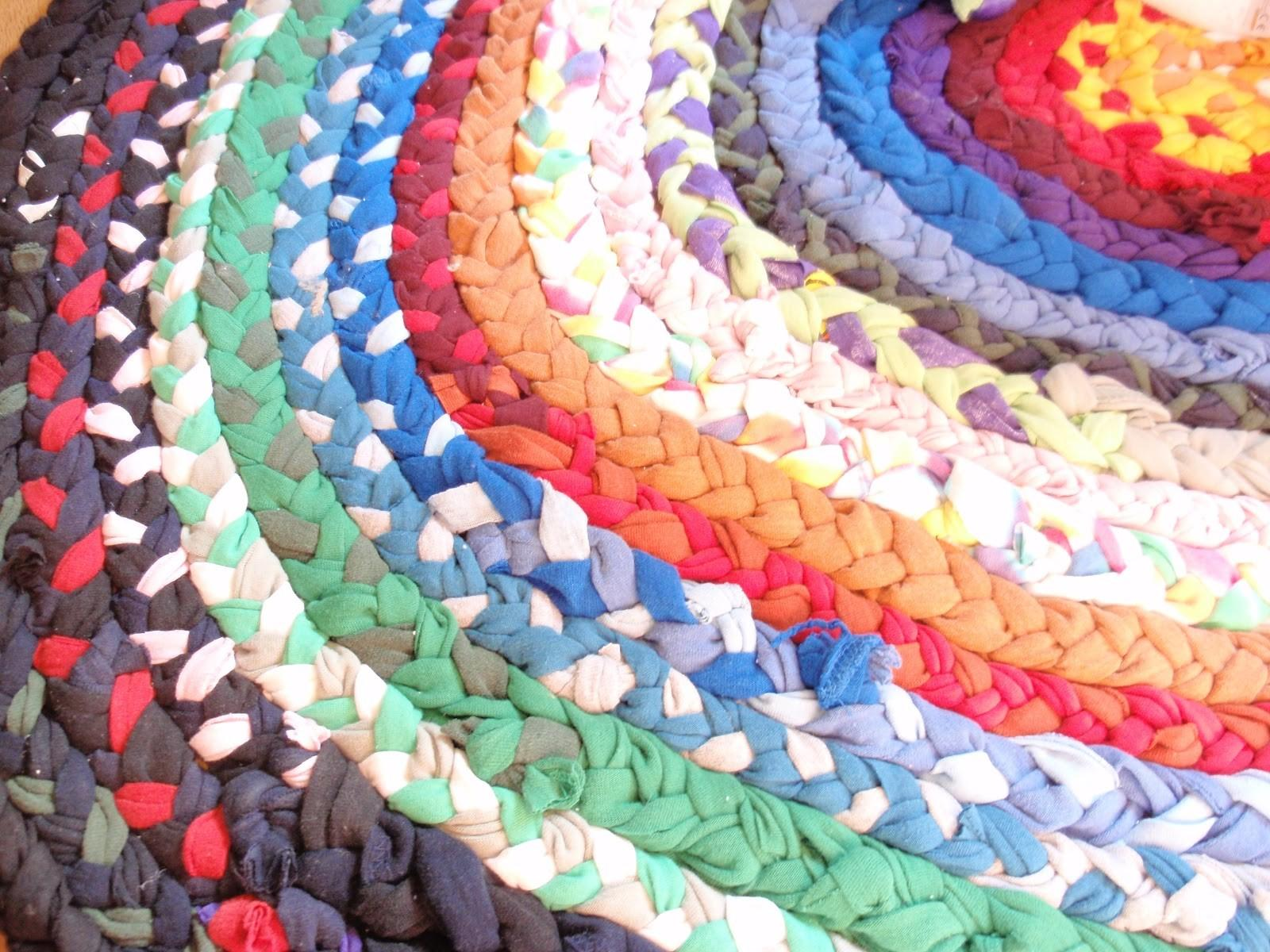 Friday Project Braided Shirt Rag Rug Small Things