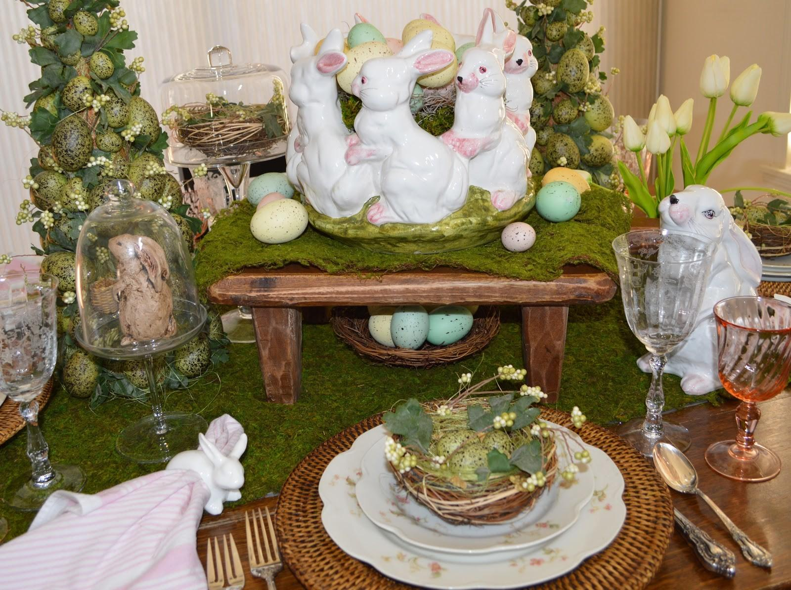 Friendship Life Style Spring Tablescape Decor