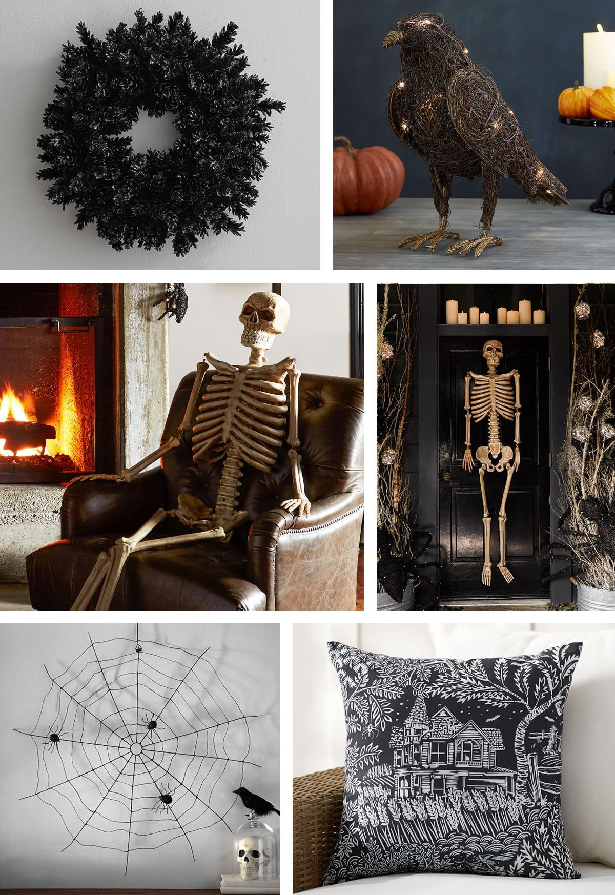 Frightful Friendly Halloween Front Door Cor Pottery Barn