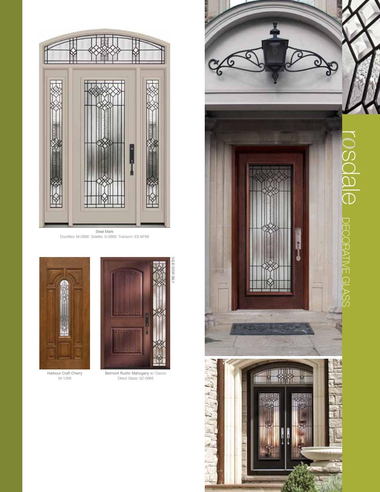Front Door Systems Steel Fiberglass Trutech