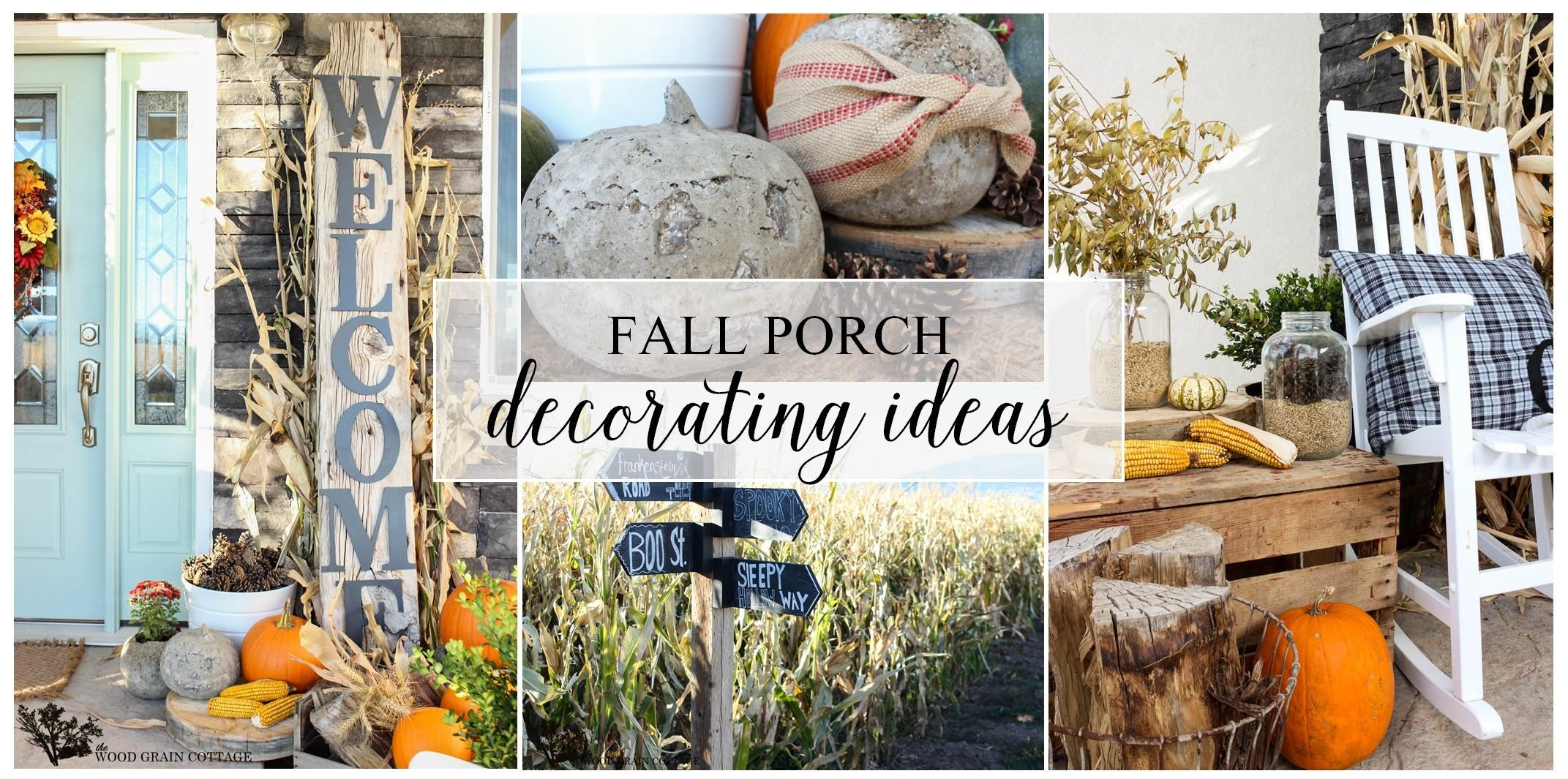 Front Door Thanksgiving Decorating Ideas Diy
