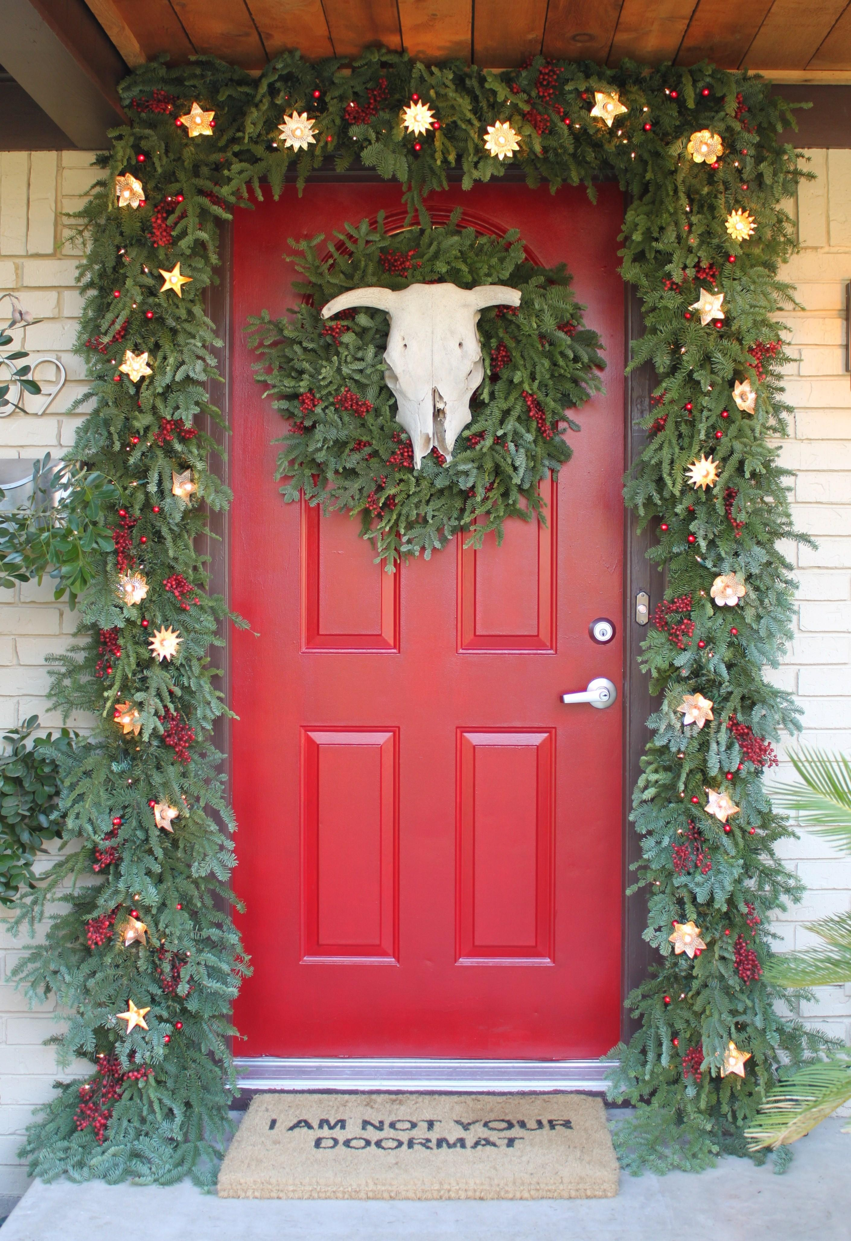 Front Door Thick Awesome Garland Cavender Diary
