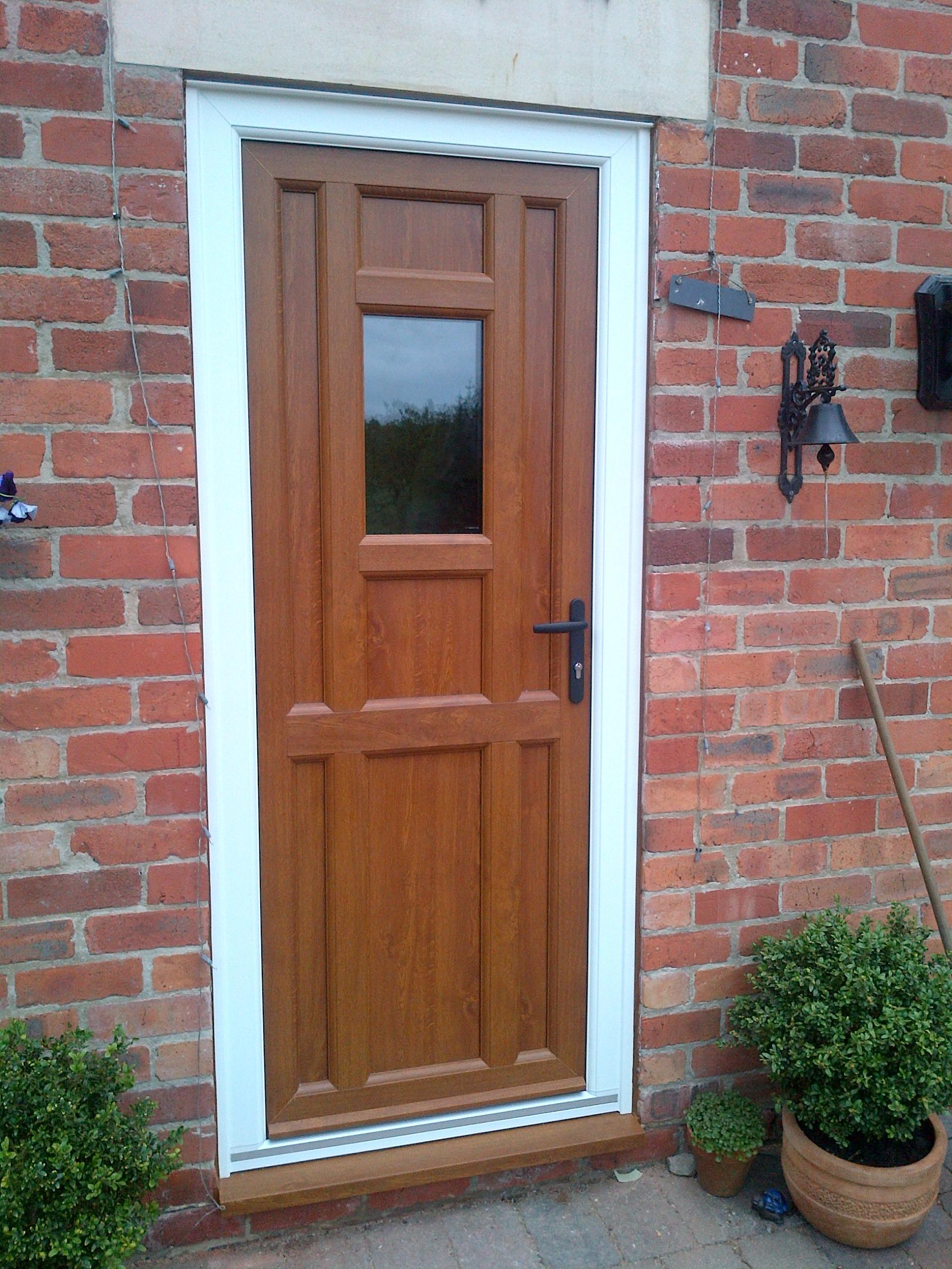 Front Doors Appealing Black Wooden Door