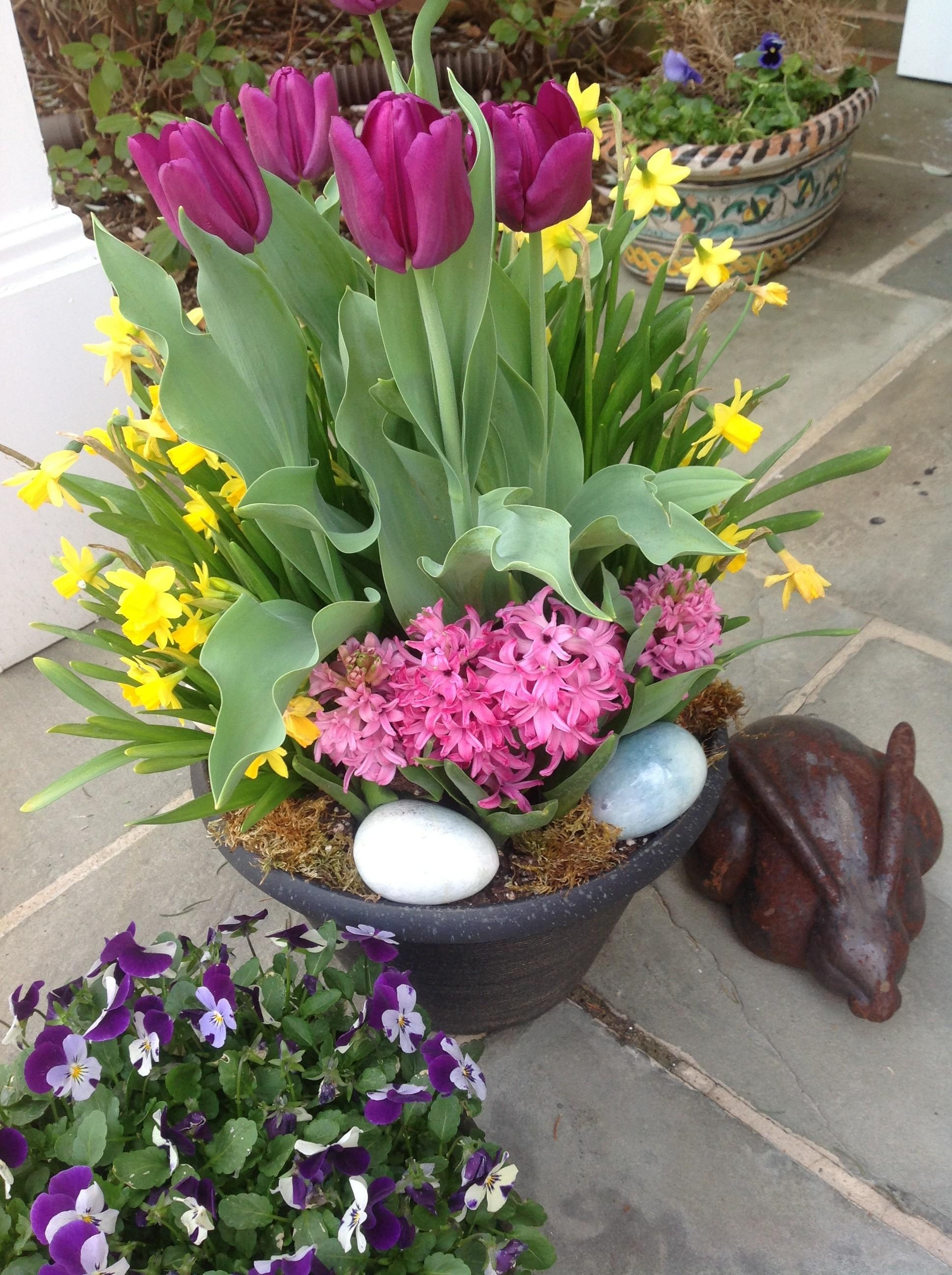 Front Easter Porch Decoration Inspirations