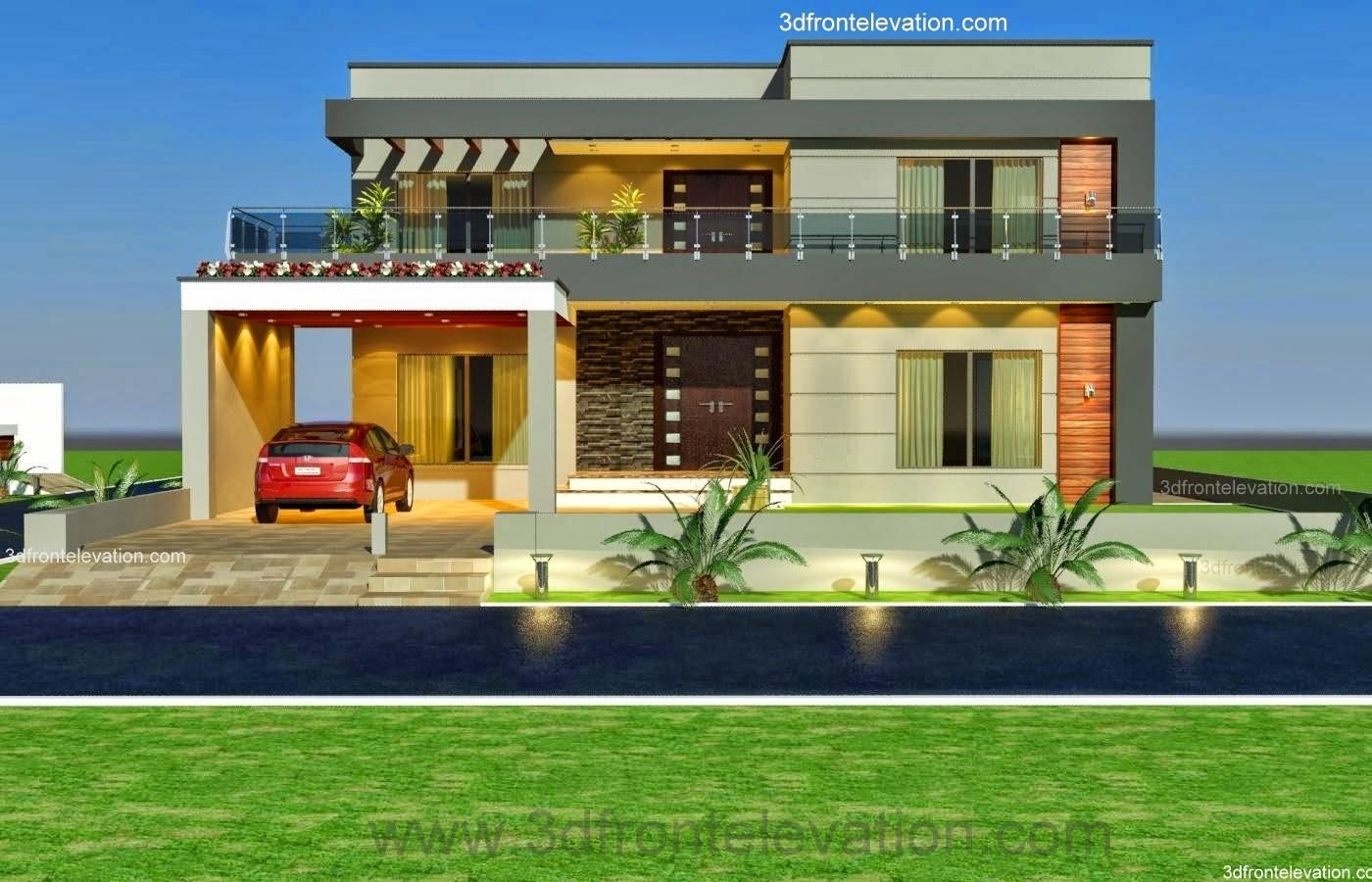 Front Elevation Kanal Old Style House Convert