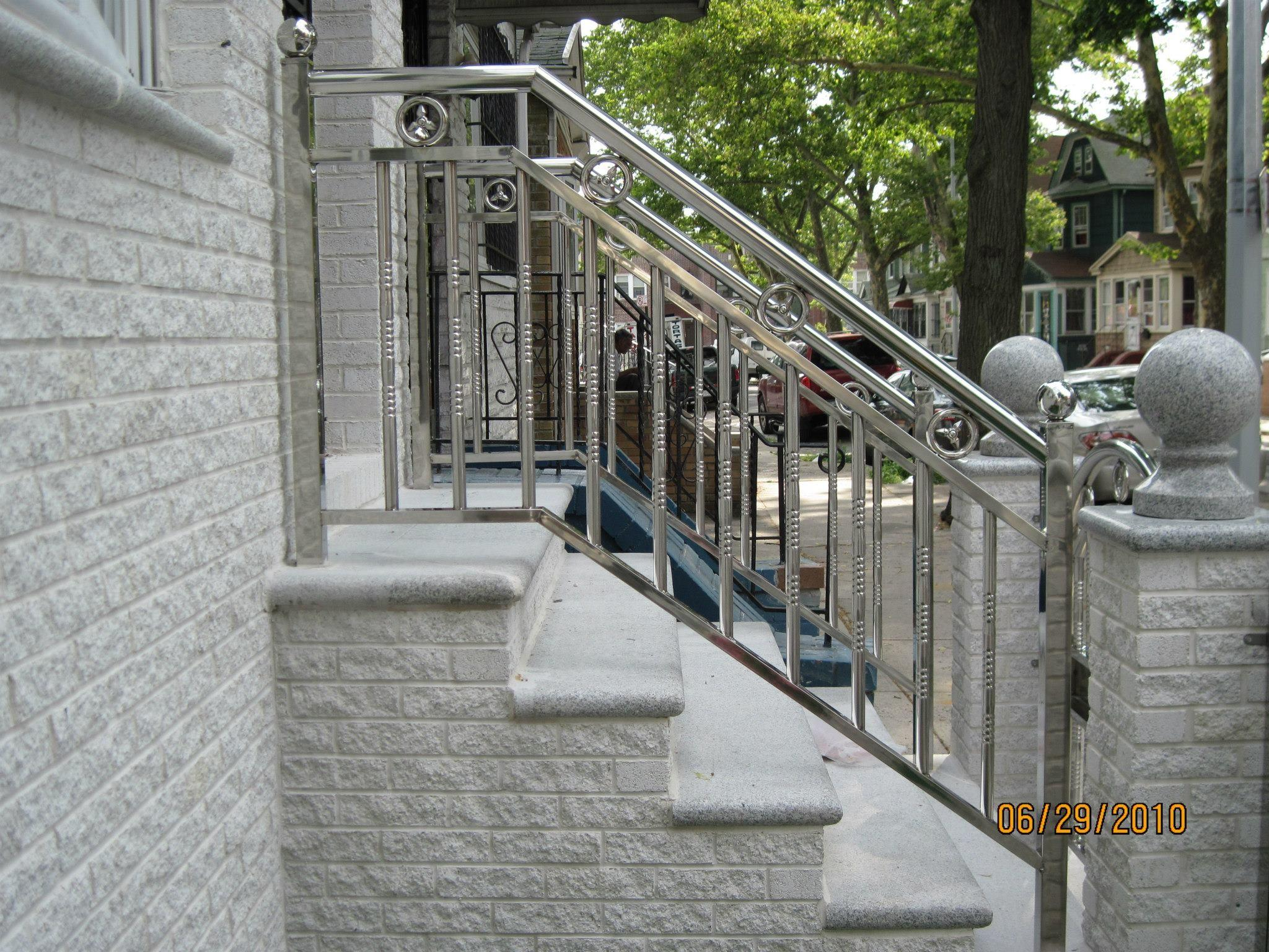 Front Porch Railing Wrought Iron