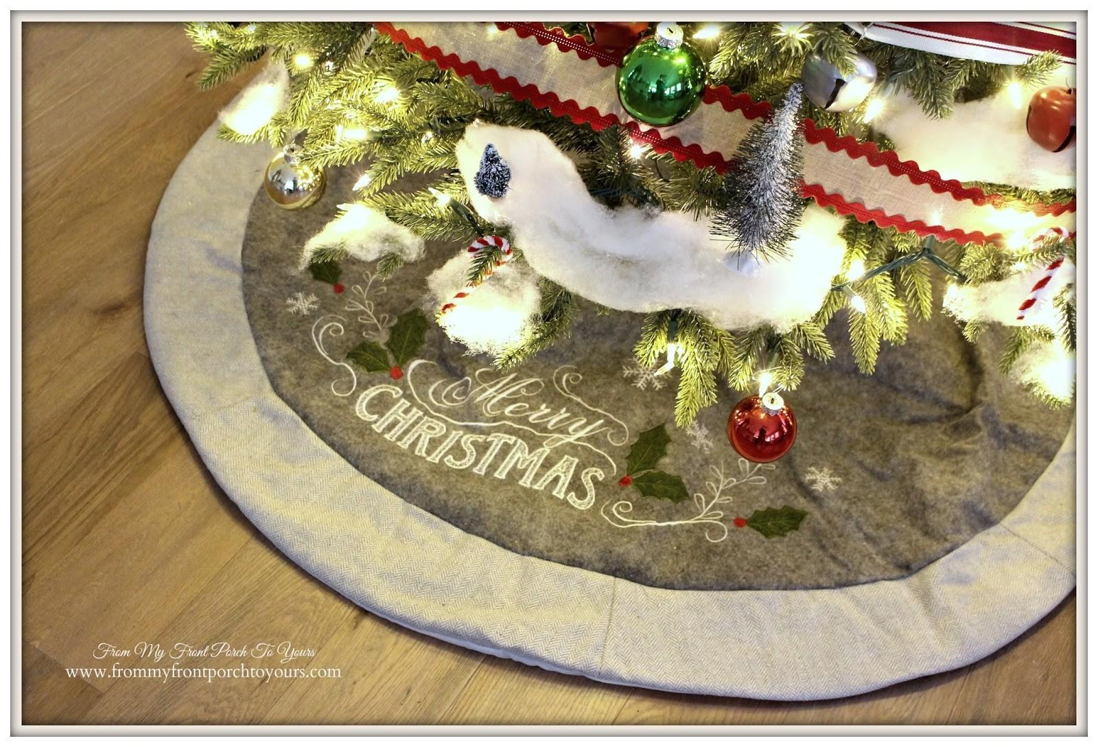 Front Porch Yours Farmhouse Christmas Tree