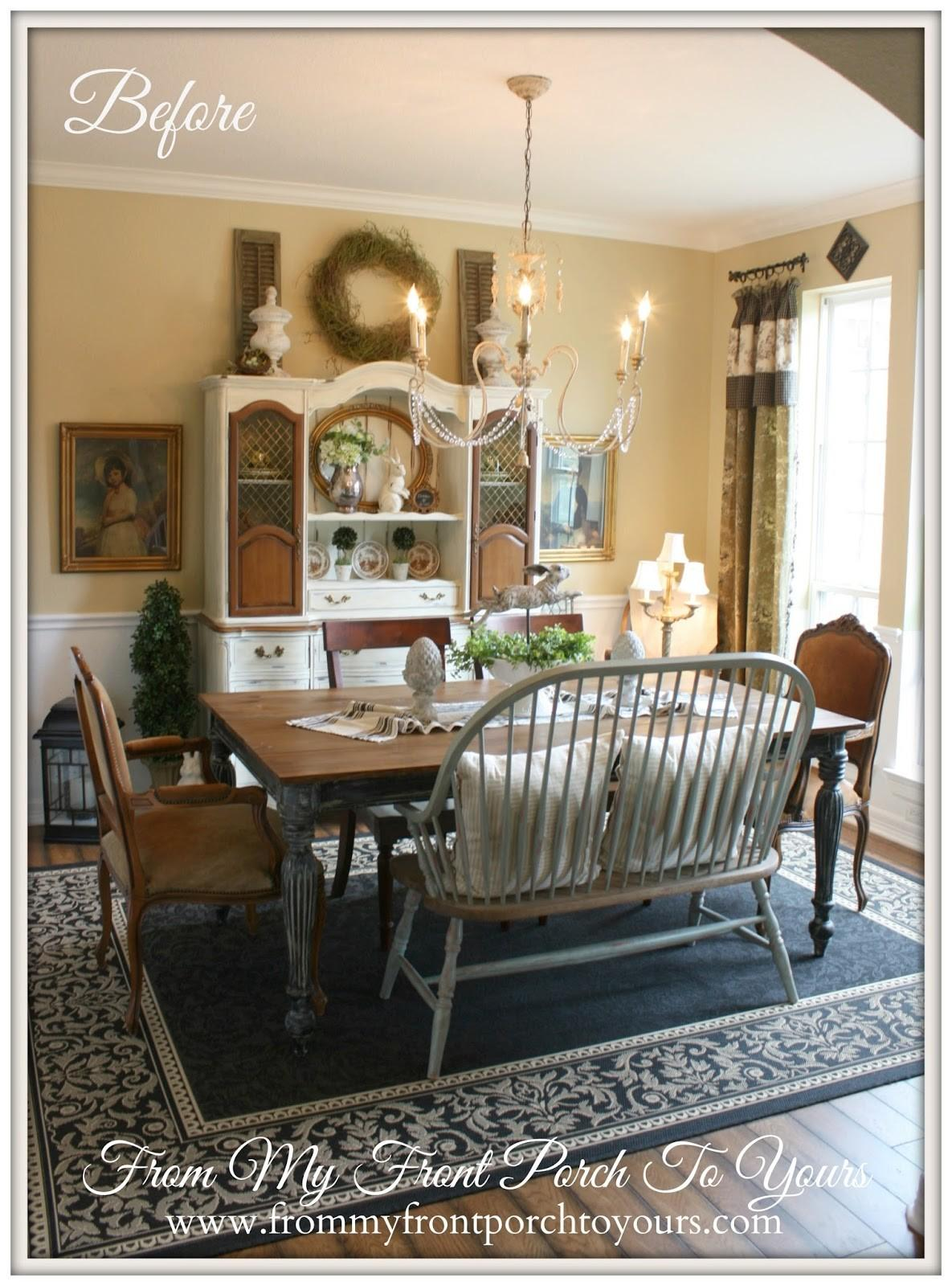 Front Porch Yours French Farmhouse Dining Room