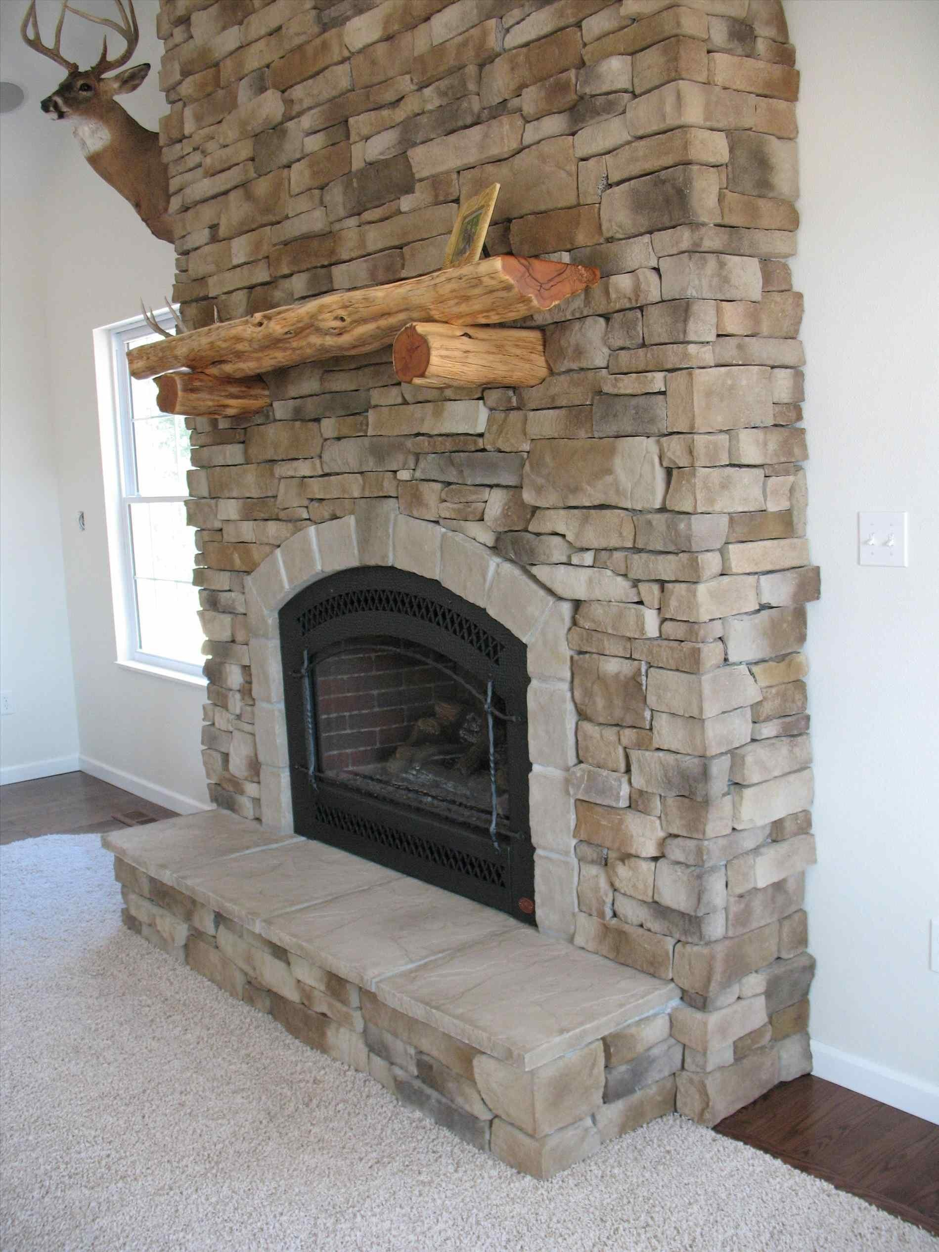 Fronts Stone Veneer Interior Cap Stones Stacked