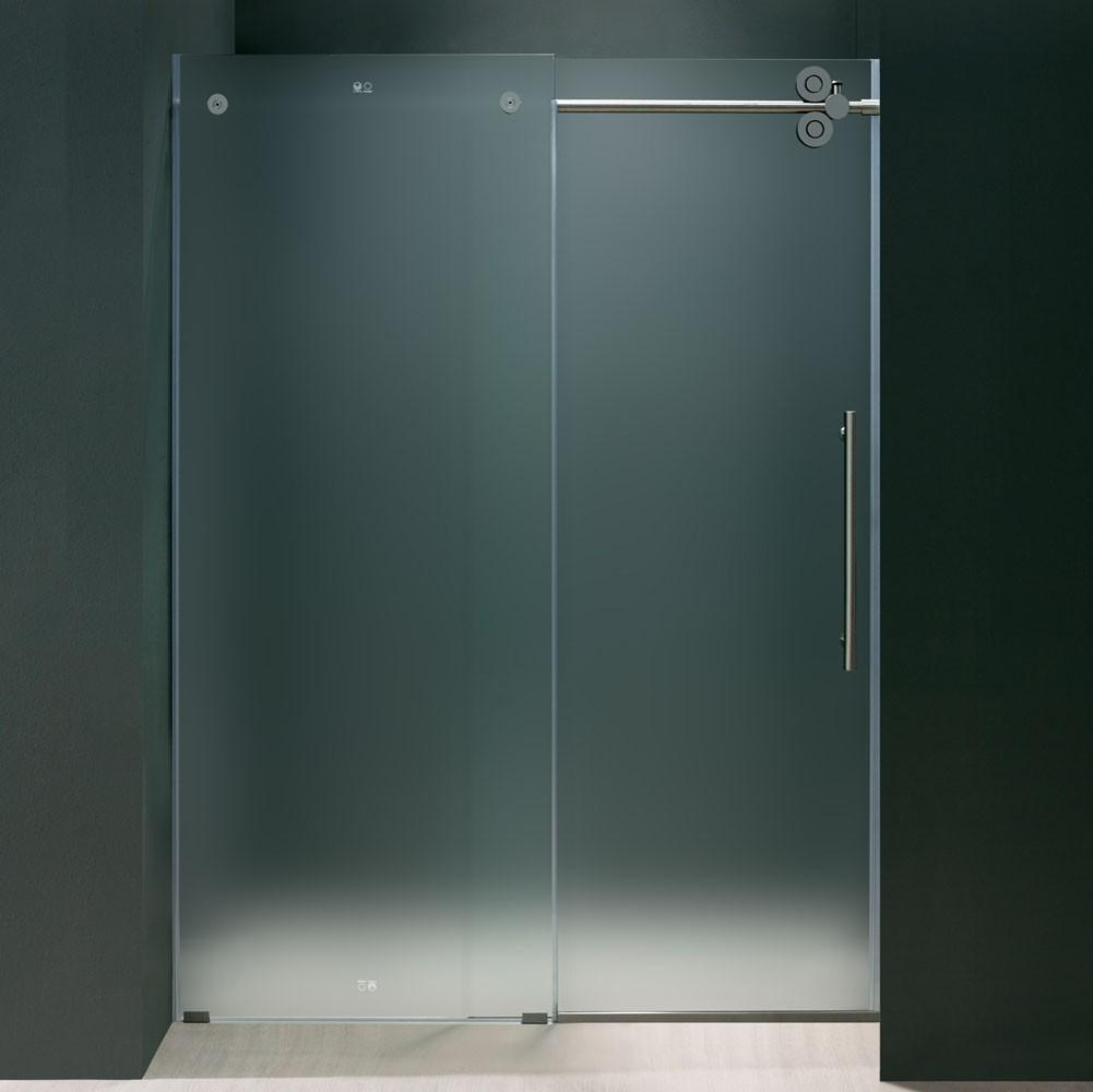 Frosted Glass Frameless Shower Doors Useful