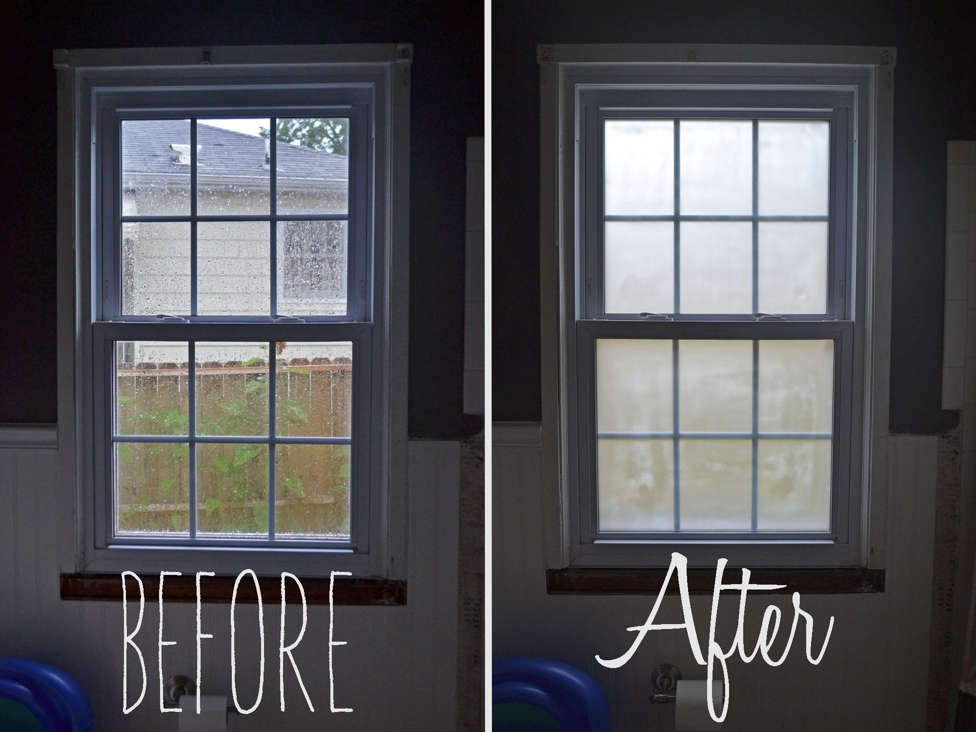 Frosted Window Love Story Crooked Housewife