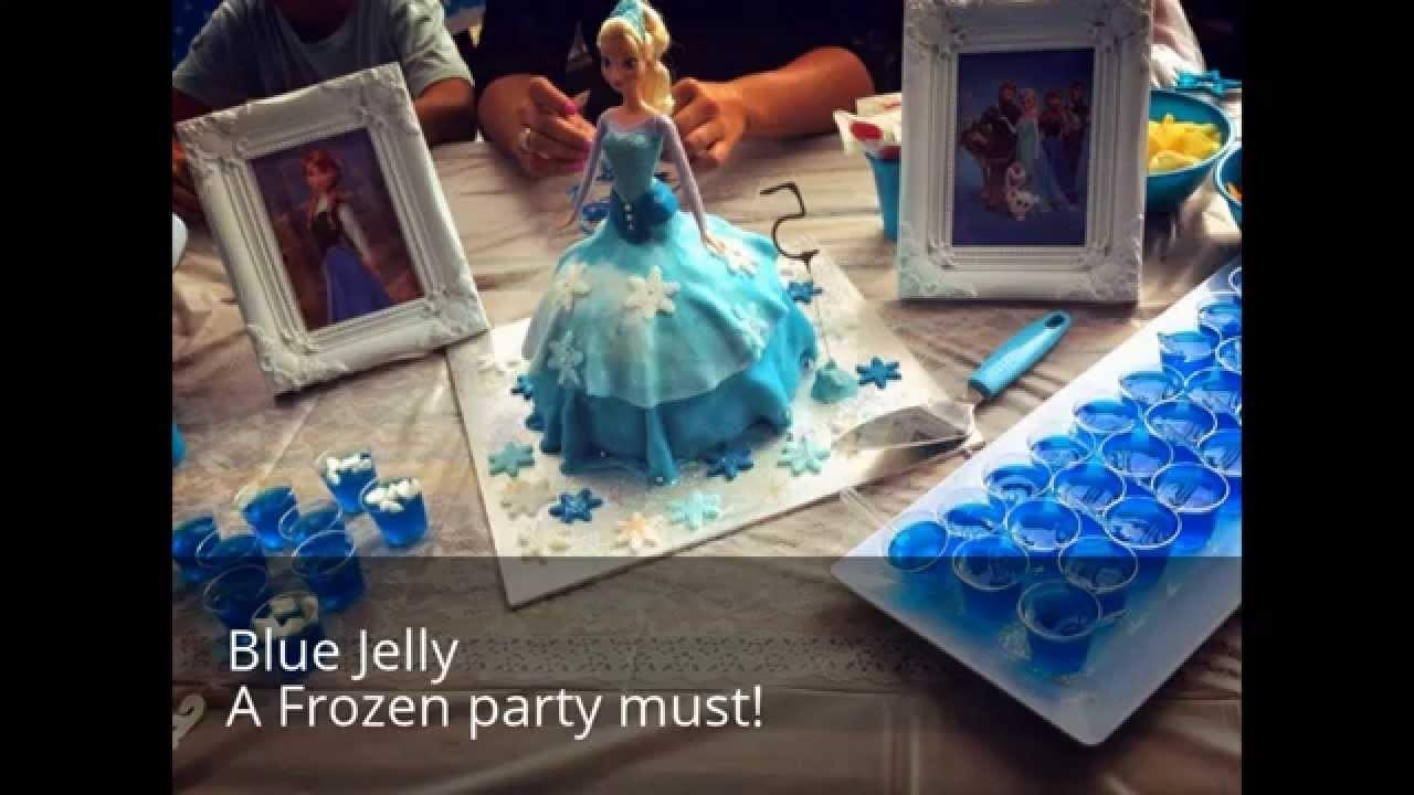Frozen Birthday Party Ideas Food Australia