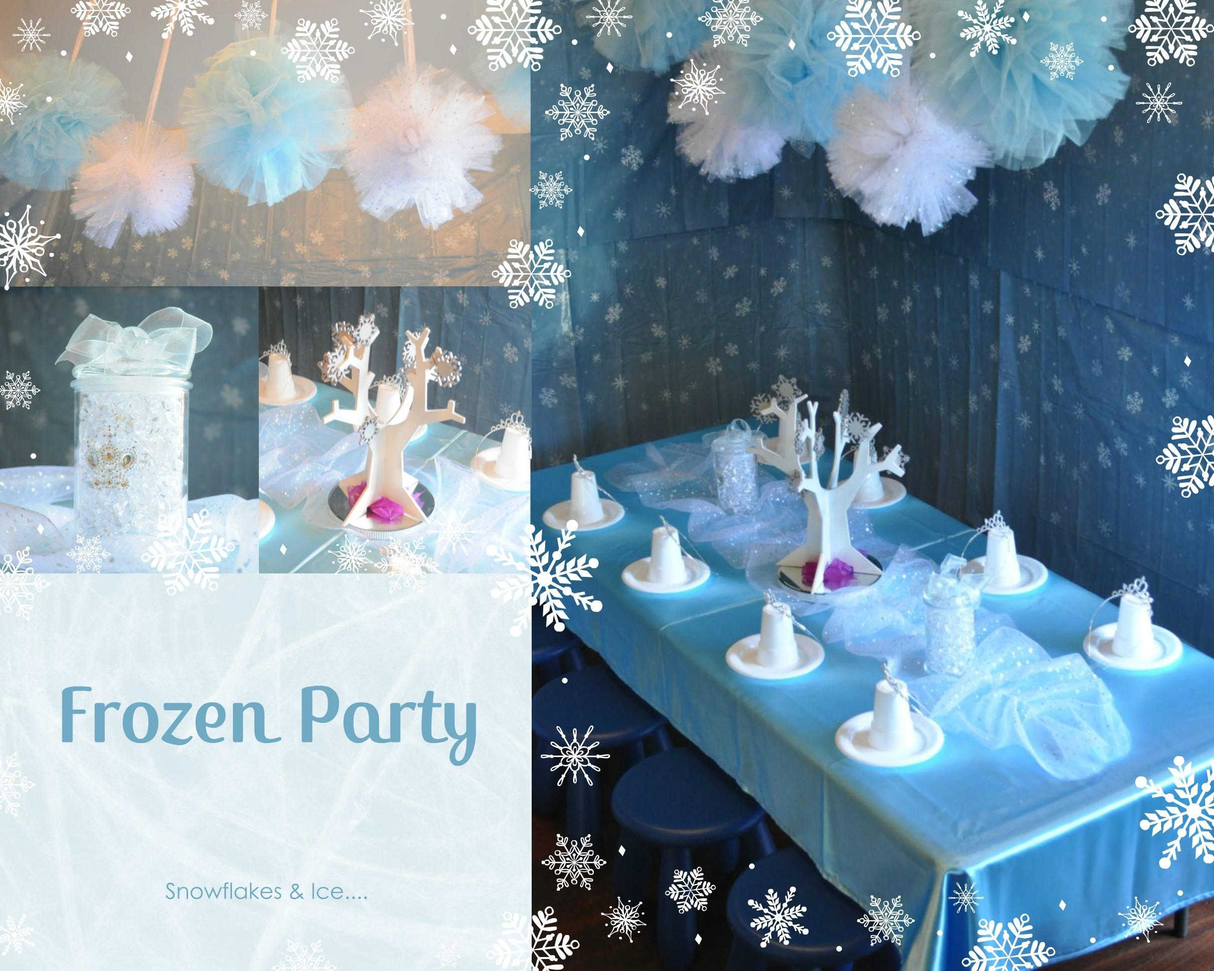 Frozen Party Packages Wishes