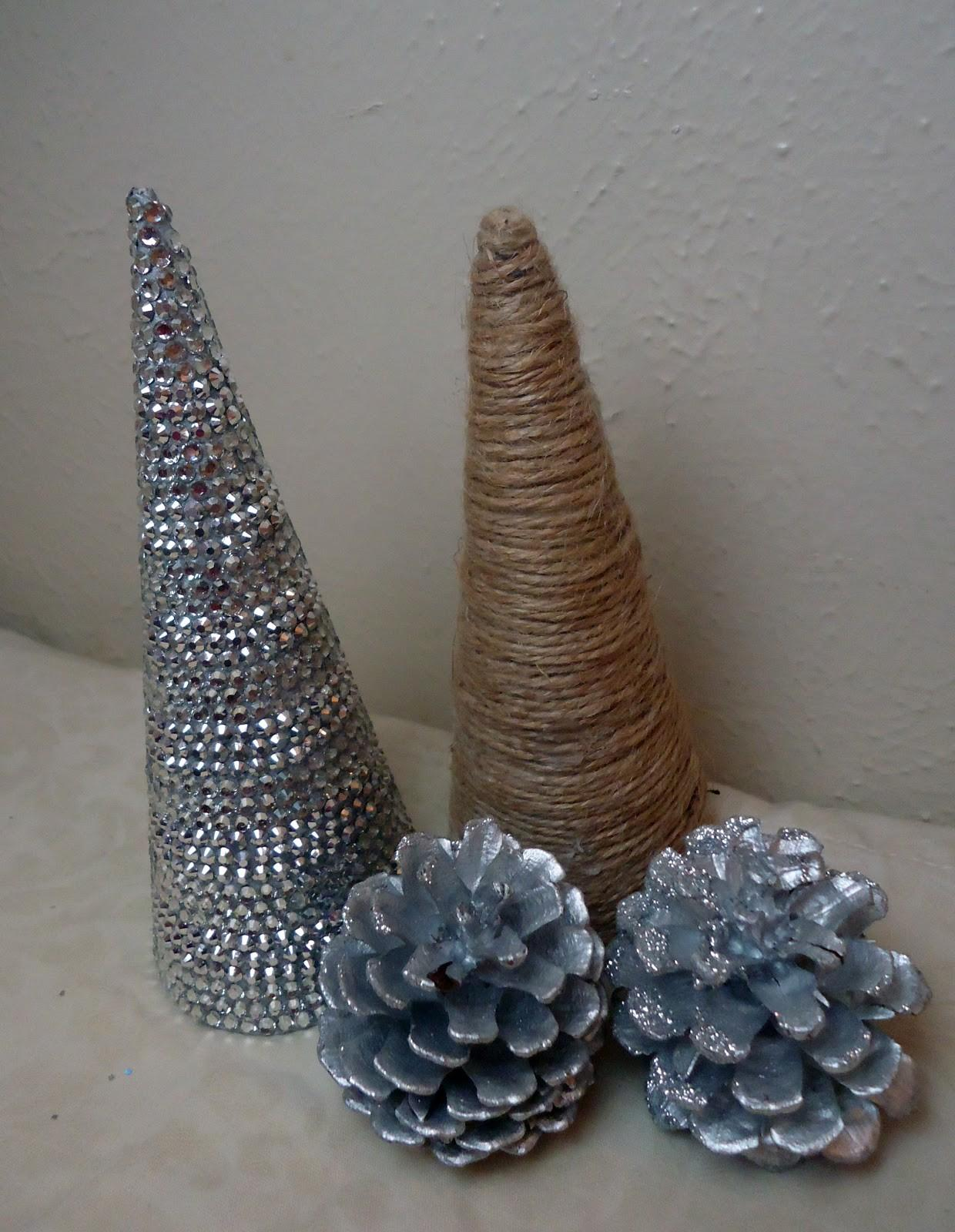 Frugal Home Design Diy Cone Shaped Christmas Trees