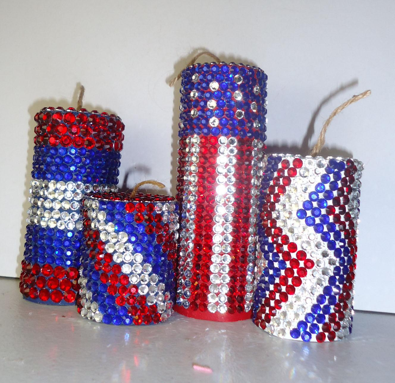Frugal Home Design Easy Inexpensive 4th July Decor