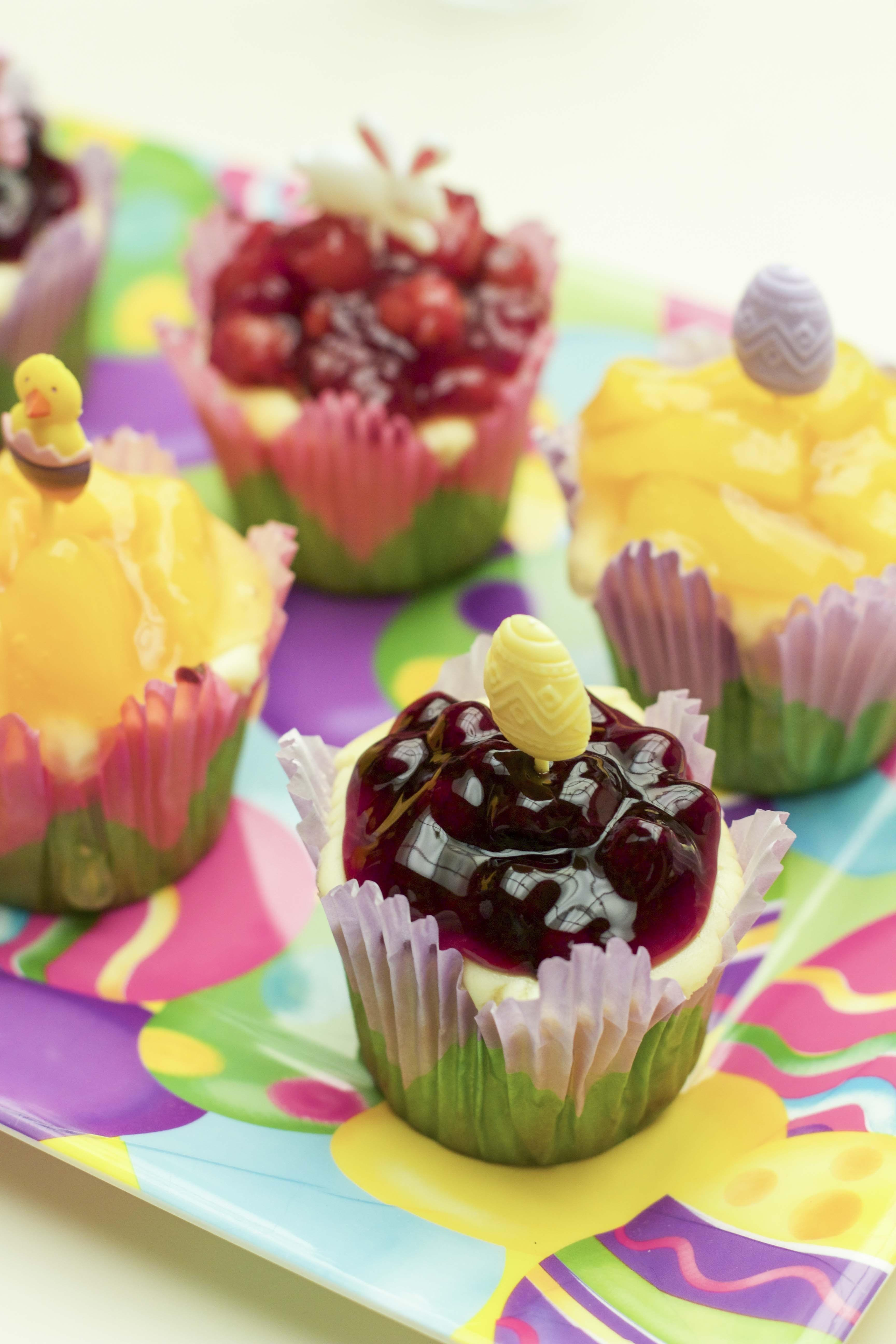 Fruit Filled Mini Cheesecakes Stacey Homemaker