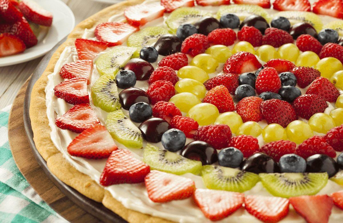 Fruit Pizza Recipe Sparkrecipes