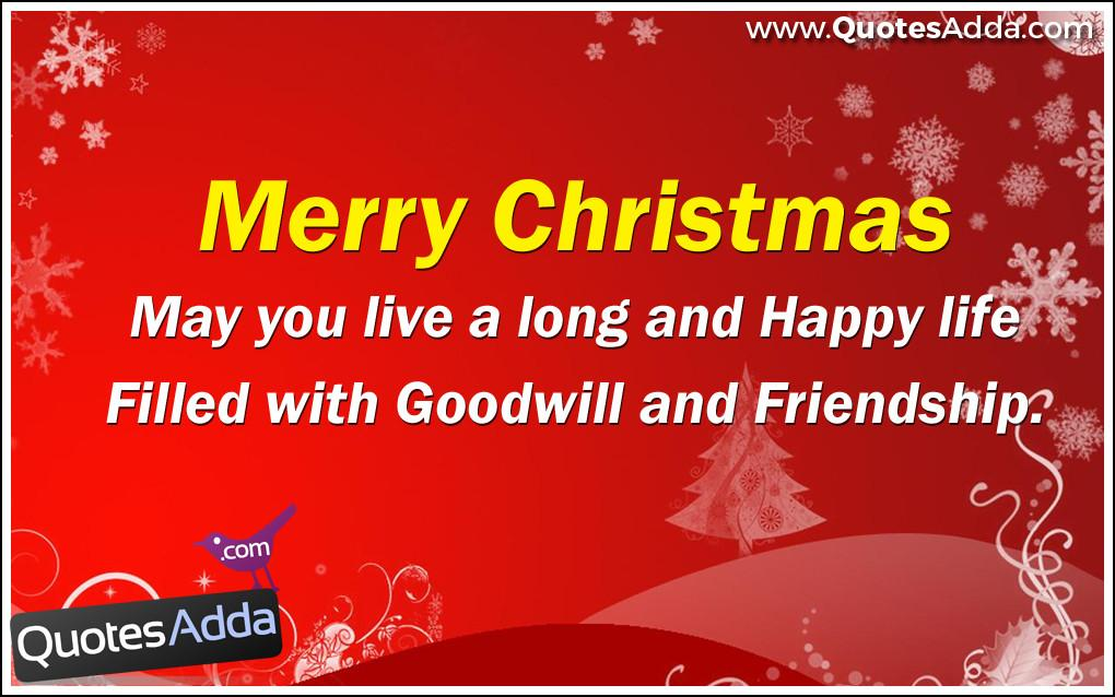 Fulfillment Merry Christmas Quotes Wishes Nice