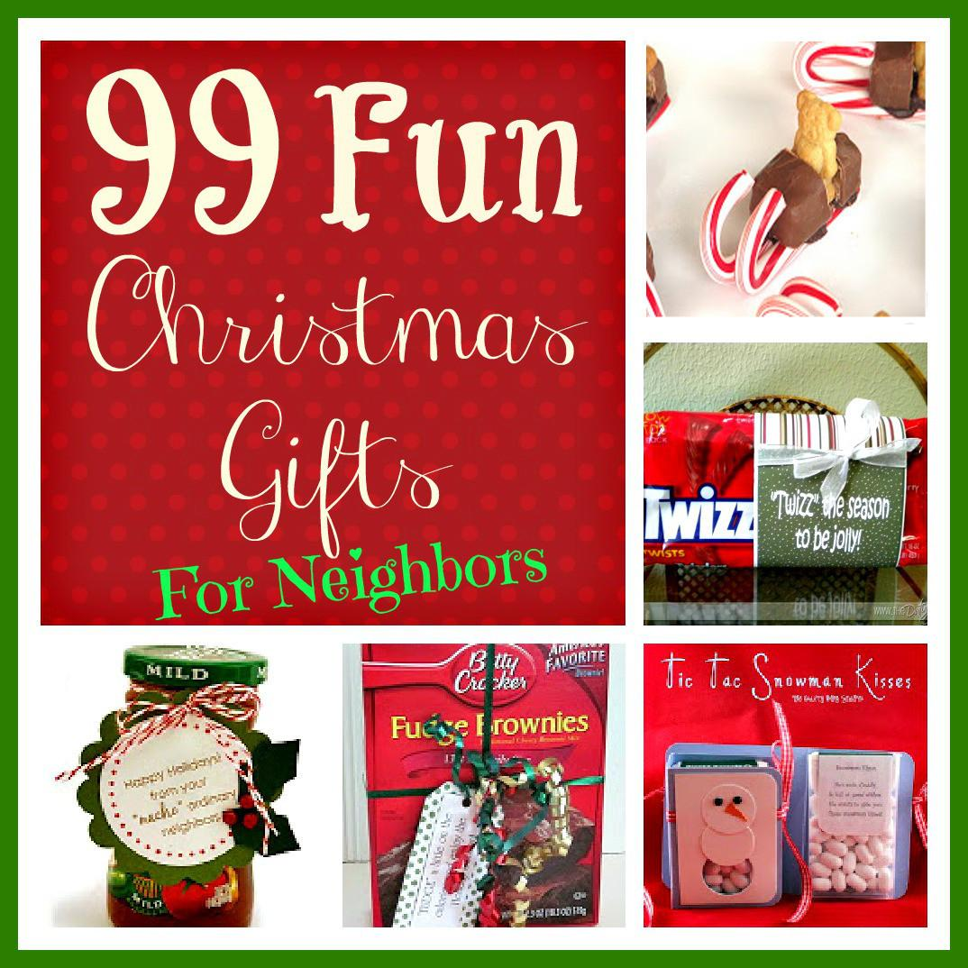 Fun Christmas Gifts Neighbors Six Sisters Stuff