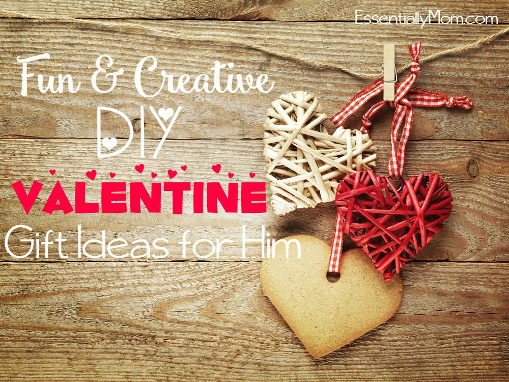 Fun Creative Diy Valentine Day Gifts Him