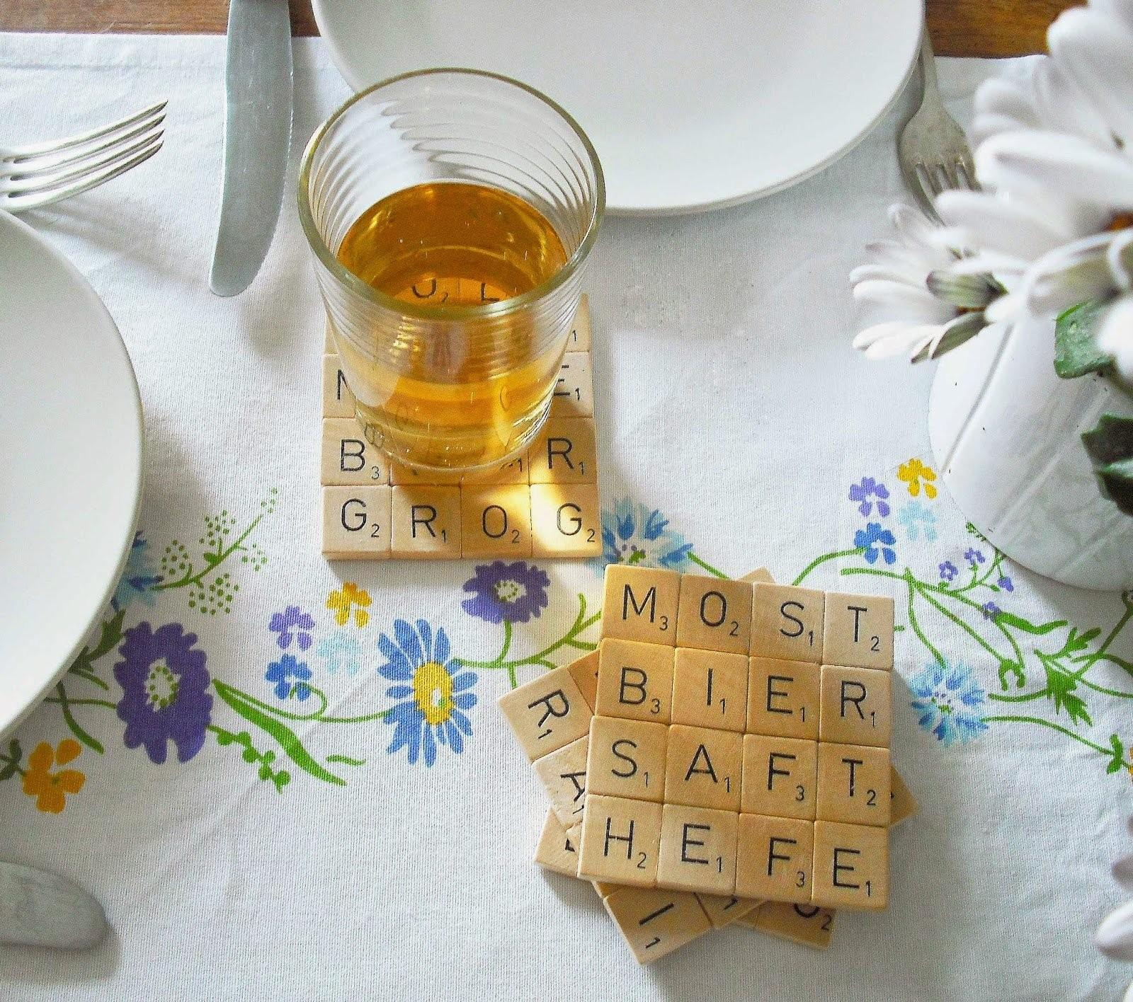 Fun Diy Coasters Water Stain Table During