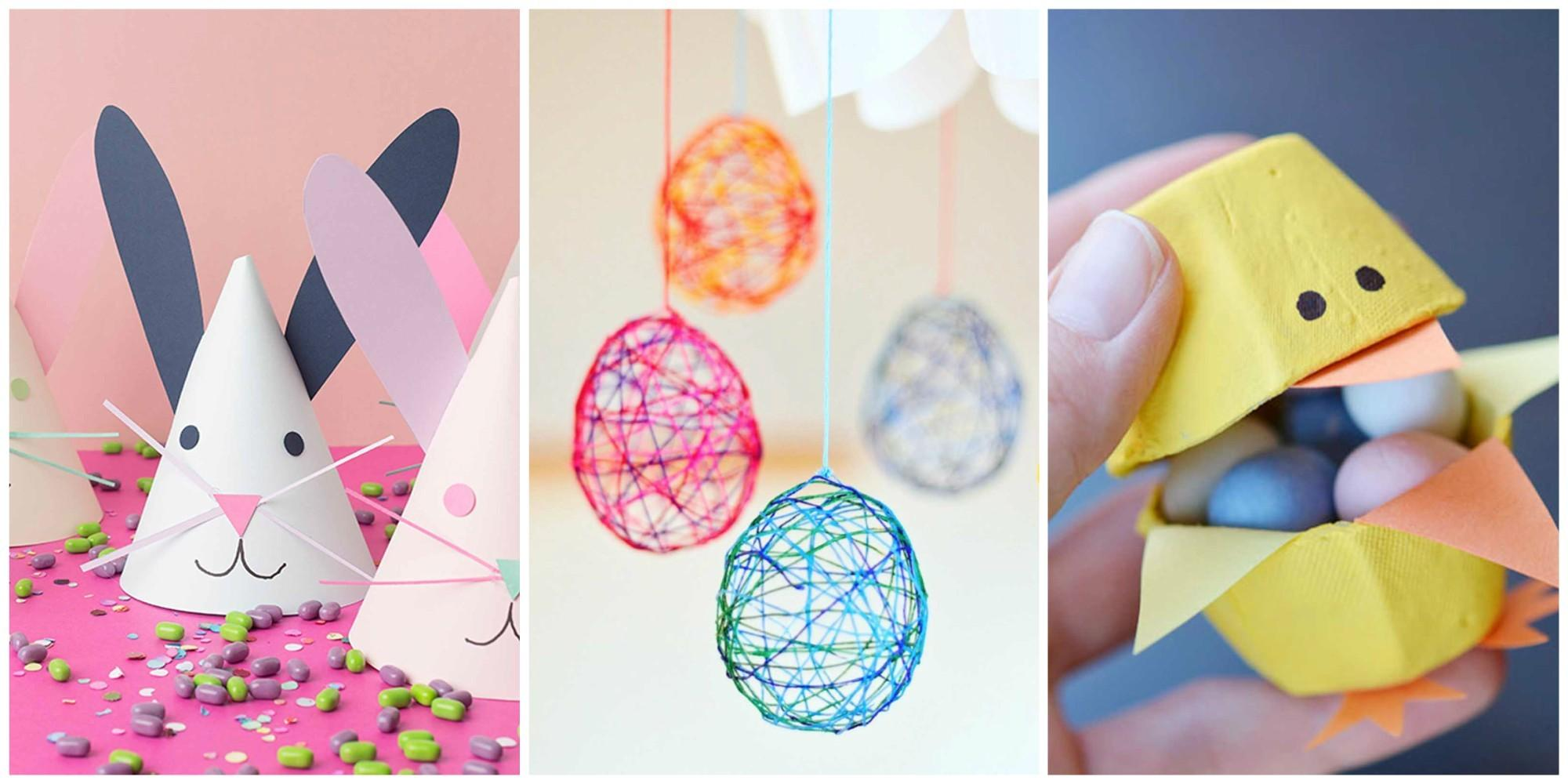 Fun Easter Crafts Kids Art Projects