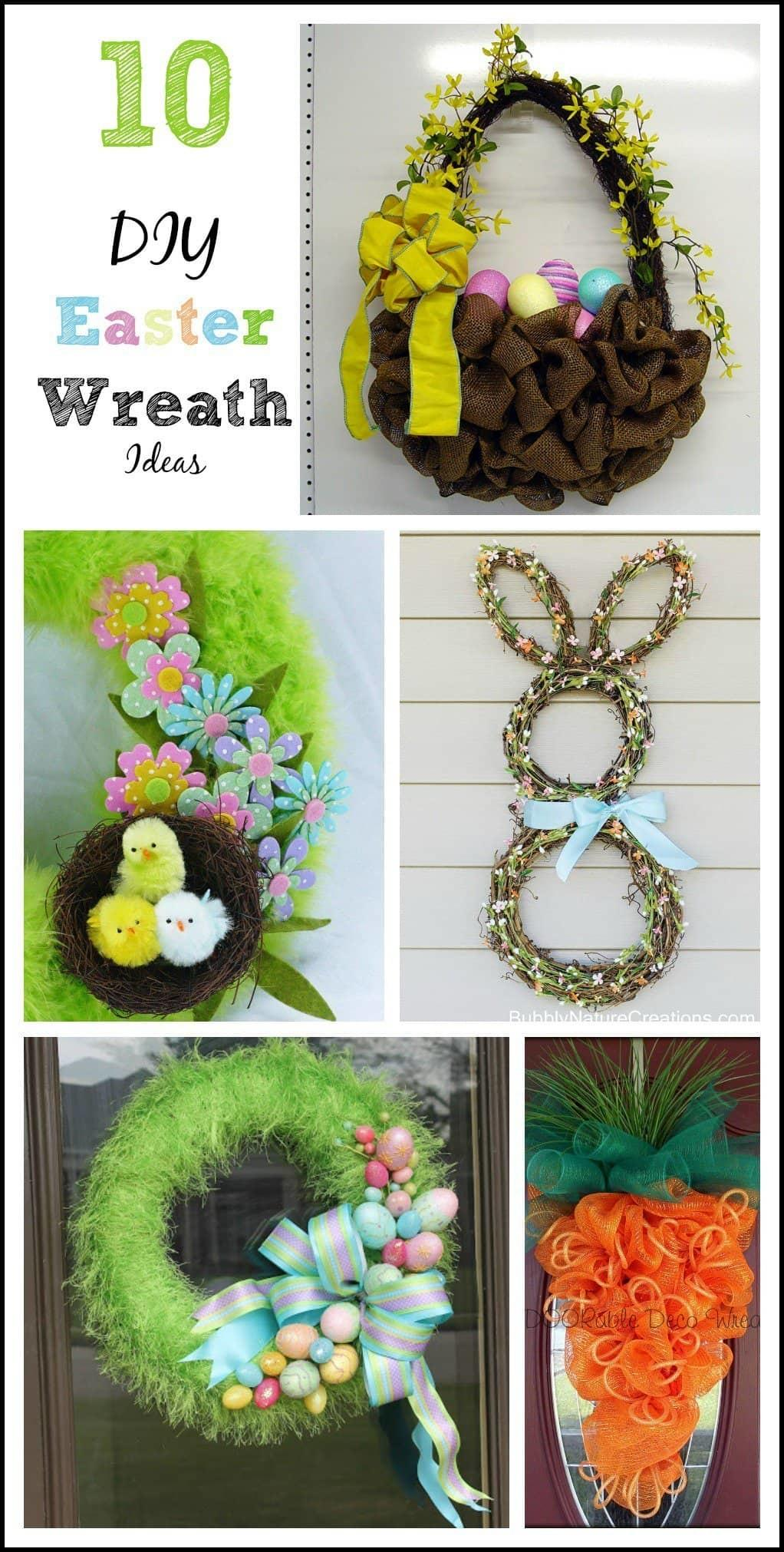 Fun Easter Wreaths Gym Craft Laundry