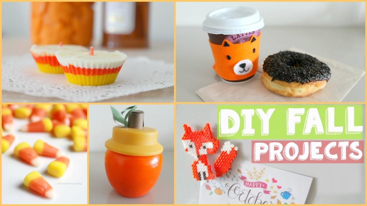 Fun Easy Diy Projects Fall Room Decor Gifts