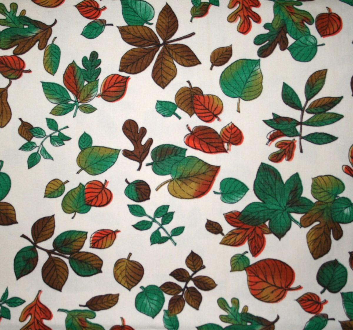 Fun Fabric Friday Fall Leaves Chic Tweaks Alterations