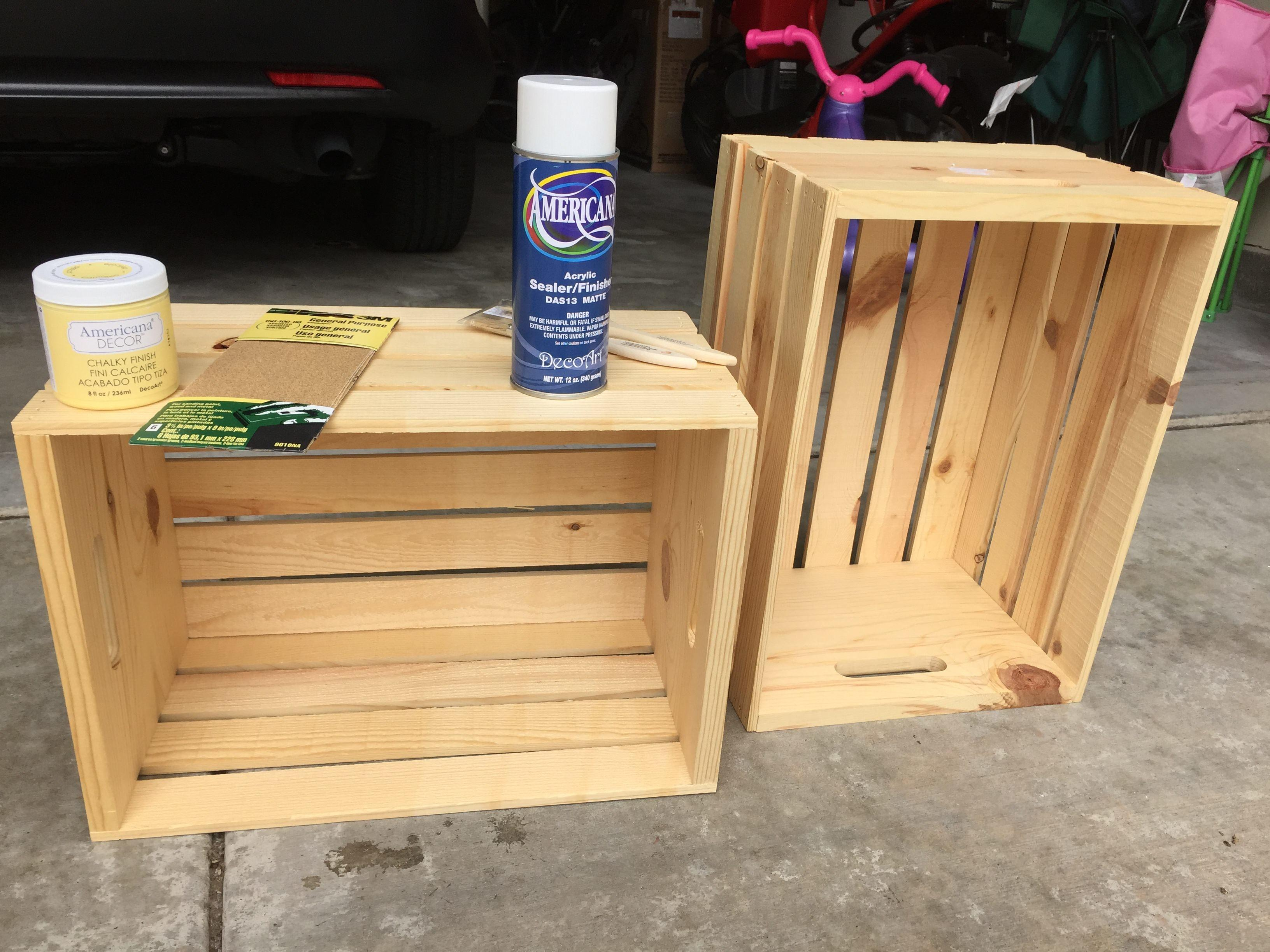 Fun Functional Diy Wooden Crate Bookcase