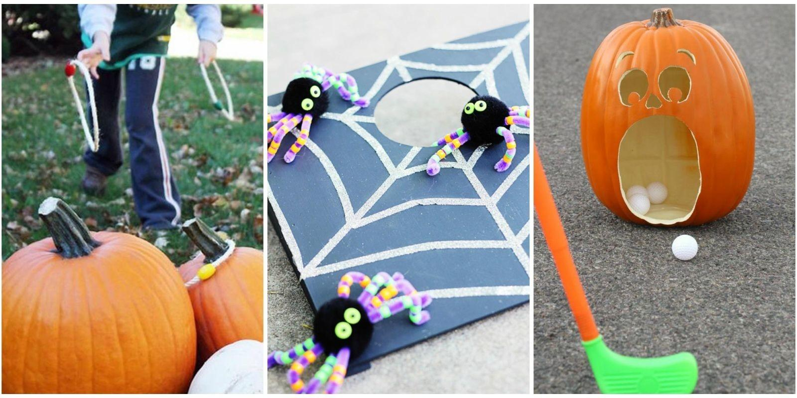 Fun Halloween Party Games Kids Best Diy