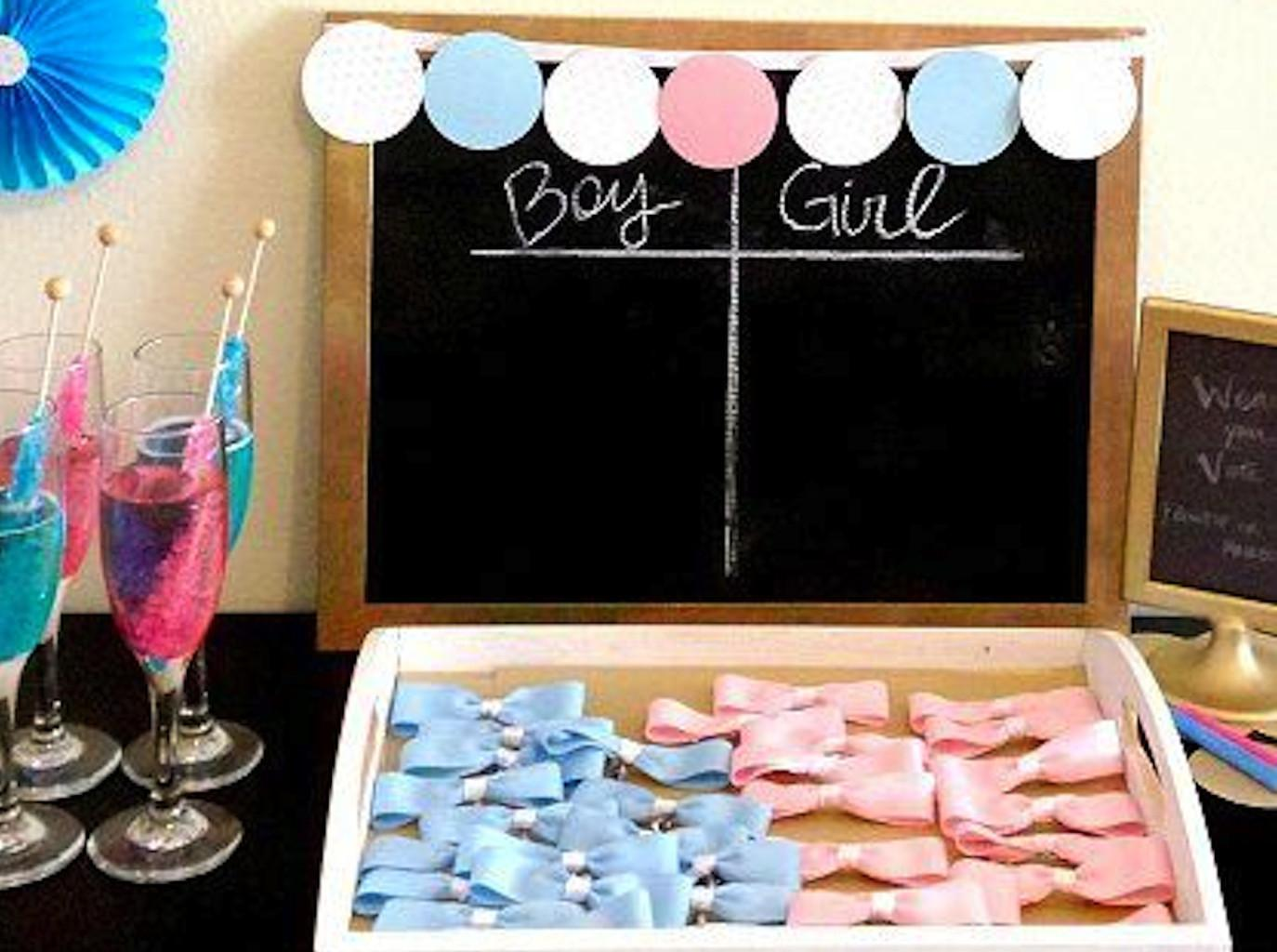Fun Ideas Throwing Gender Reveal Party
