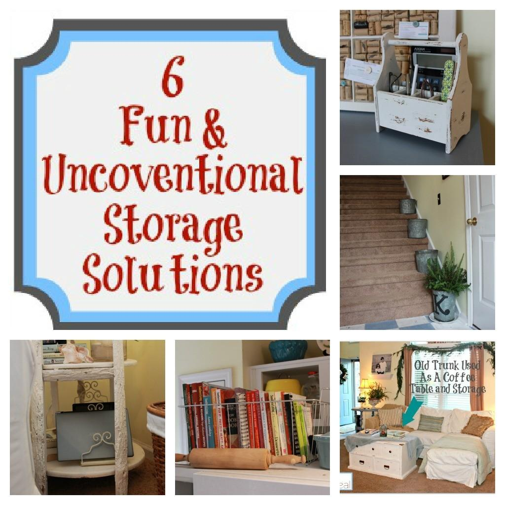 Fun Unconventional Storage Solutions Mom Real