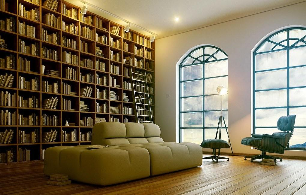 Functional Modern Home Library Designs All Book Lovers