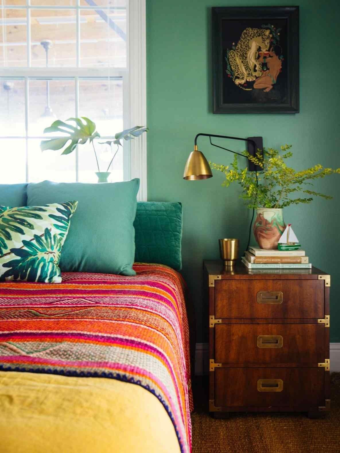 Funky Bedroom Ideas Decorating Also Bed